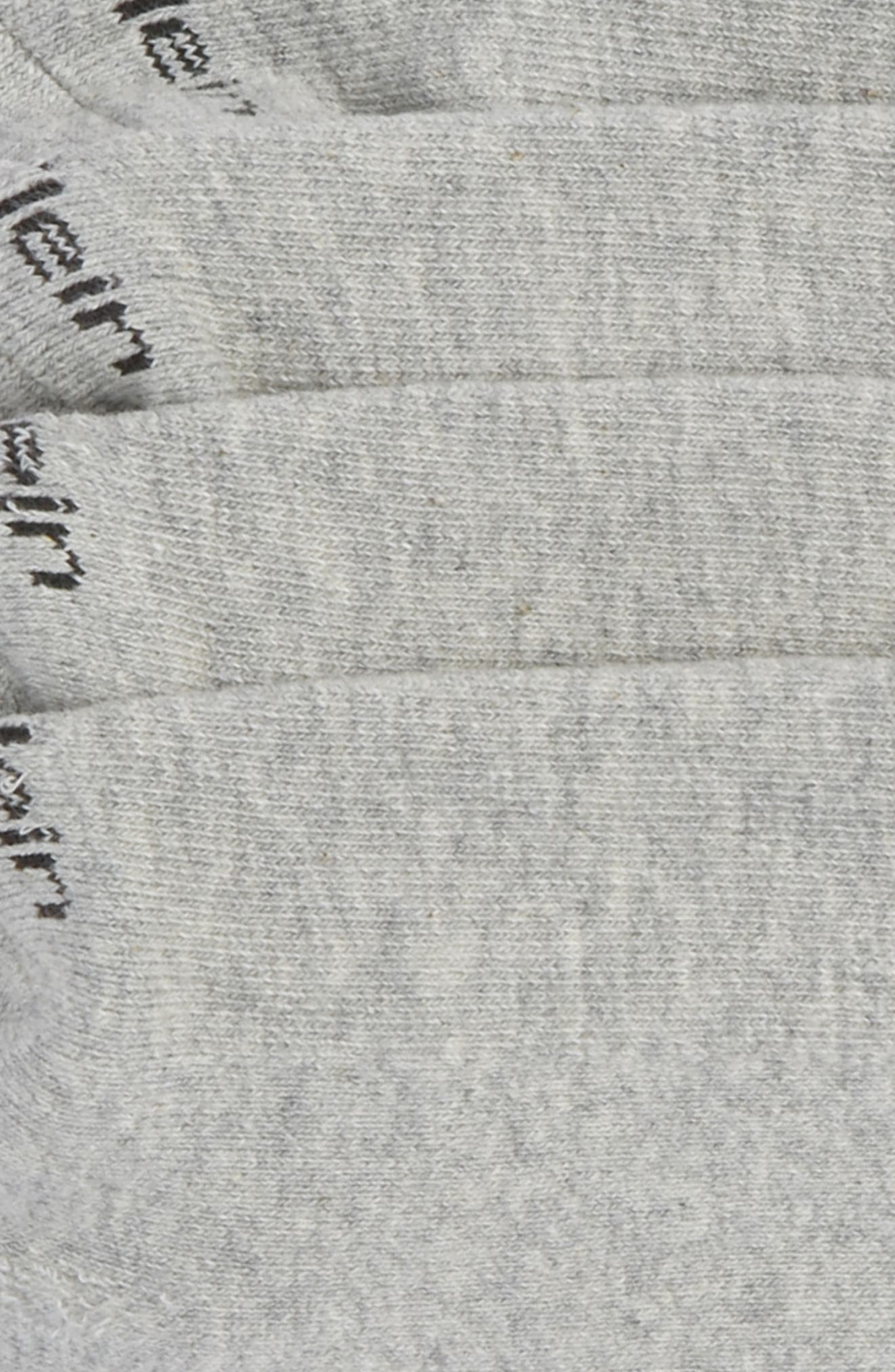 Alternate Image 2  - Calvin Klein 2-Pack Performance No-Show Socks