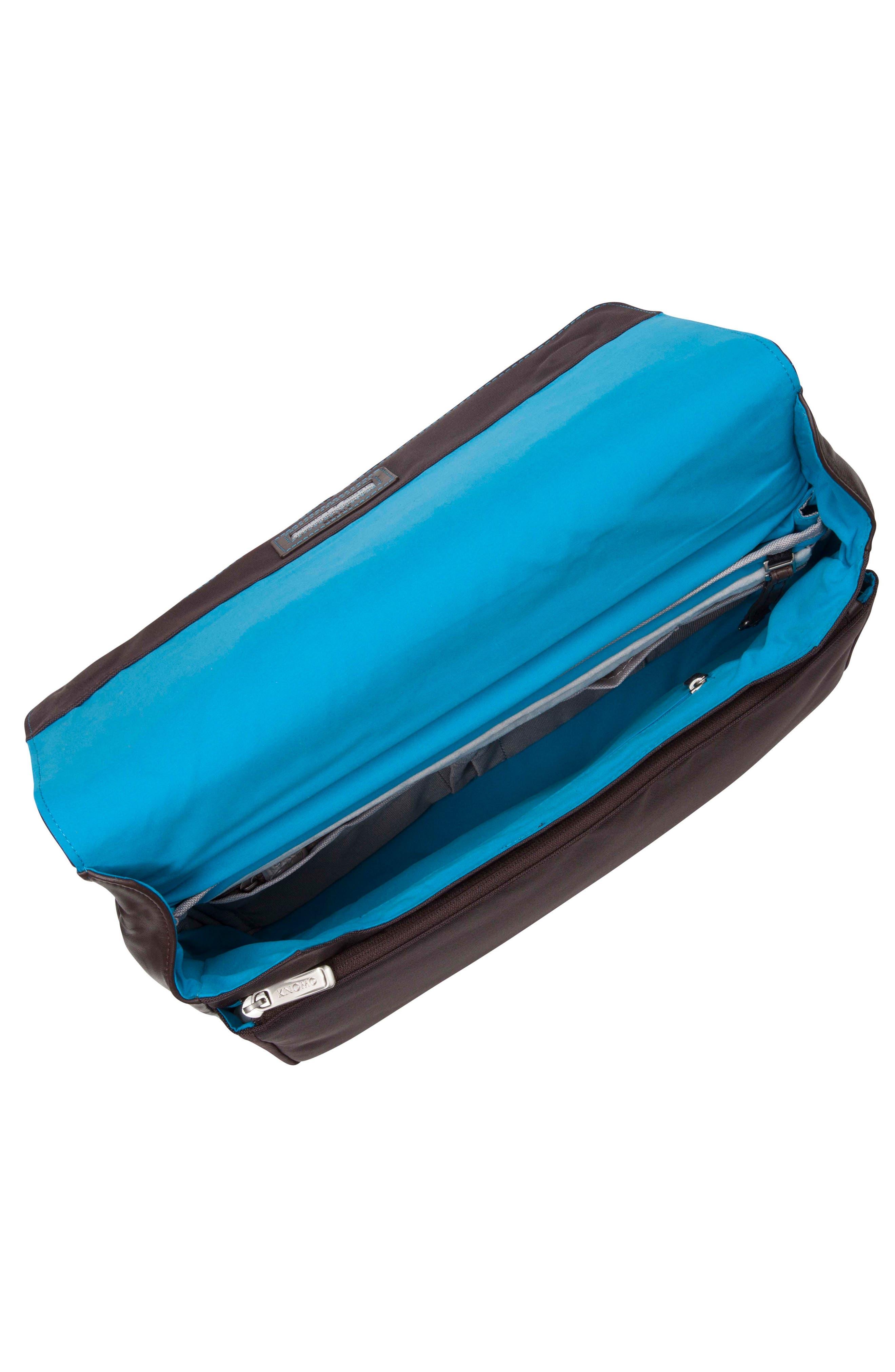 Alternate Image 3  - KNOMO London Brompton Kinsale RFID Leather Messenger Bag