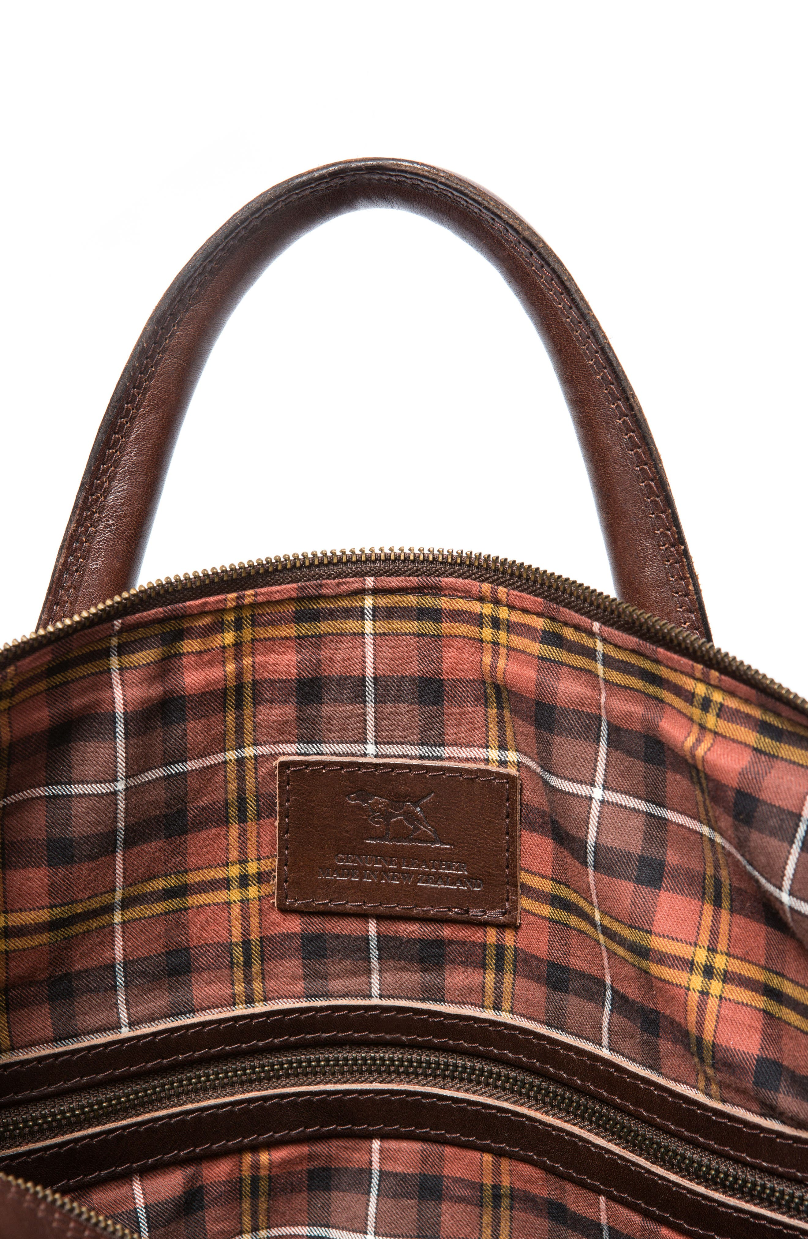 Normanby Duffel Bag,                             Alternate thumbnail 3, color,                             Cocoa