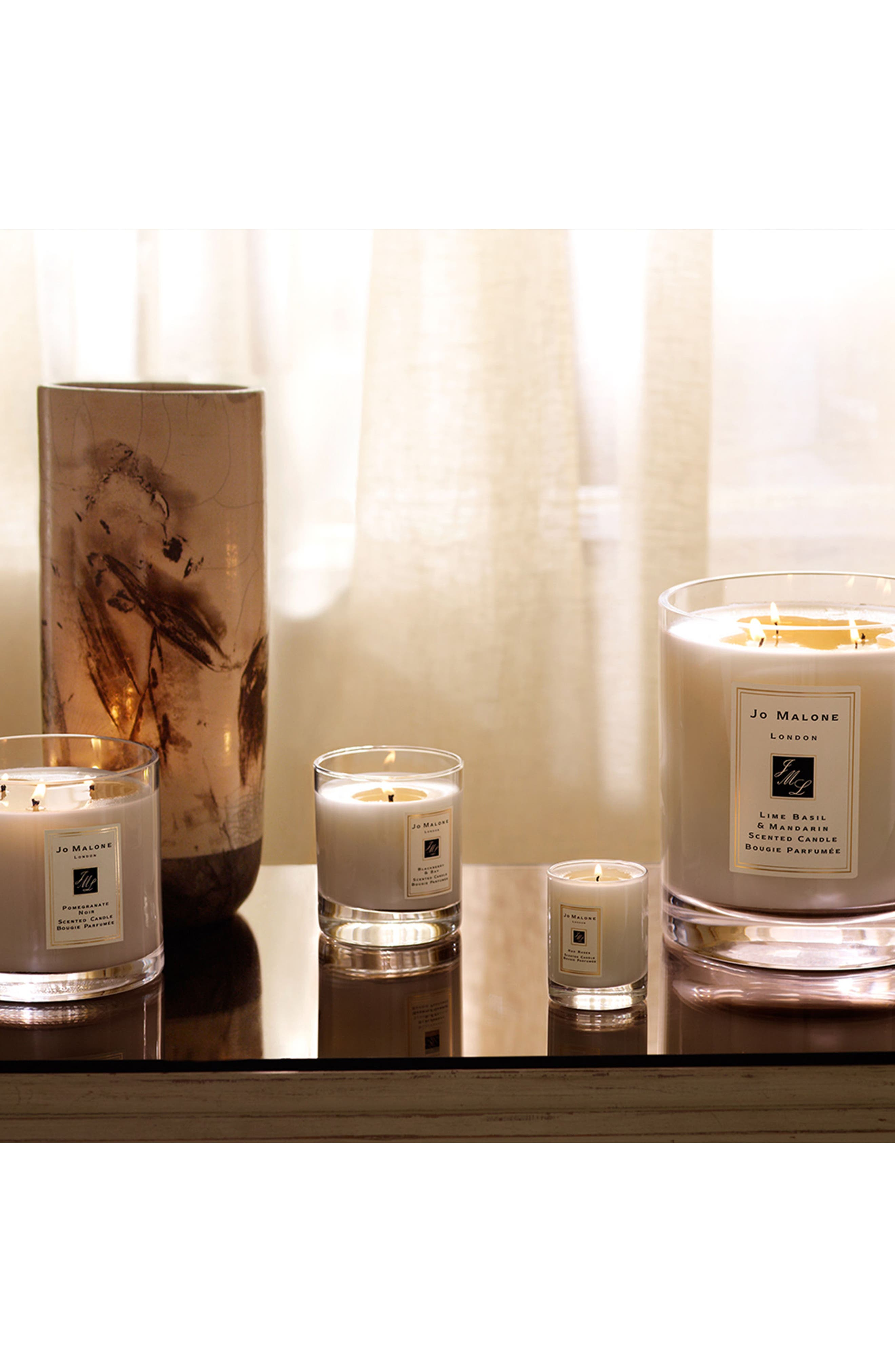 Jo Malone<sup>™</sup> 'Lime Basil & Mandarin' Luxury Candle,                             Alternate thumbnail 4, color,                             No Color