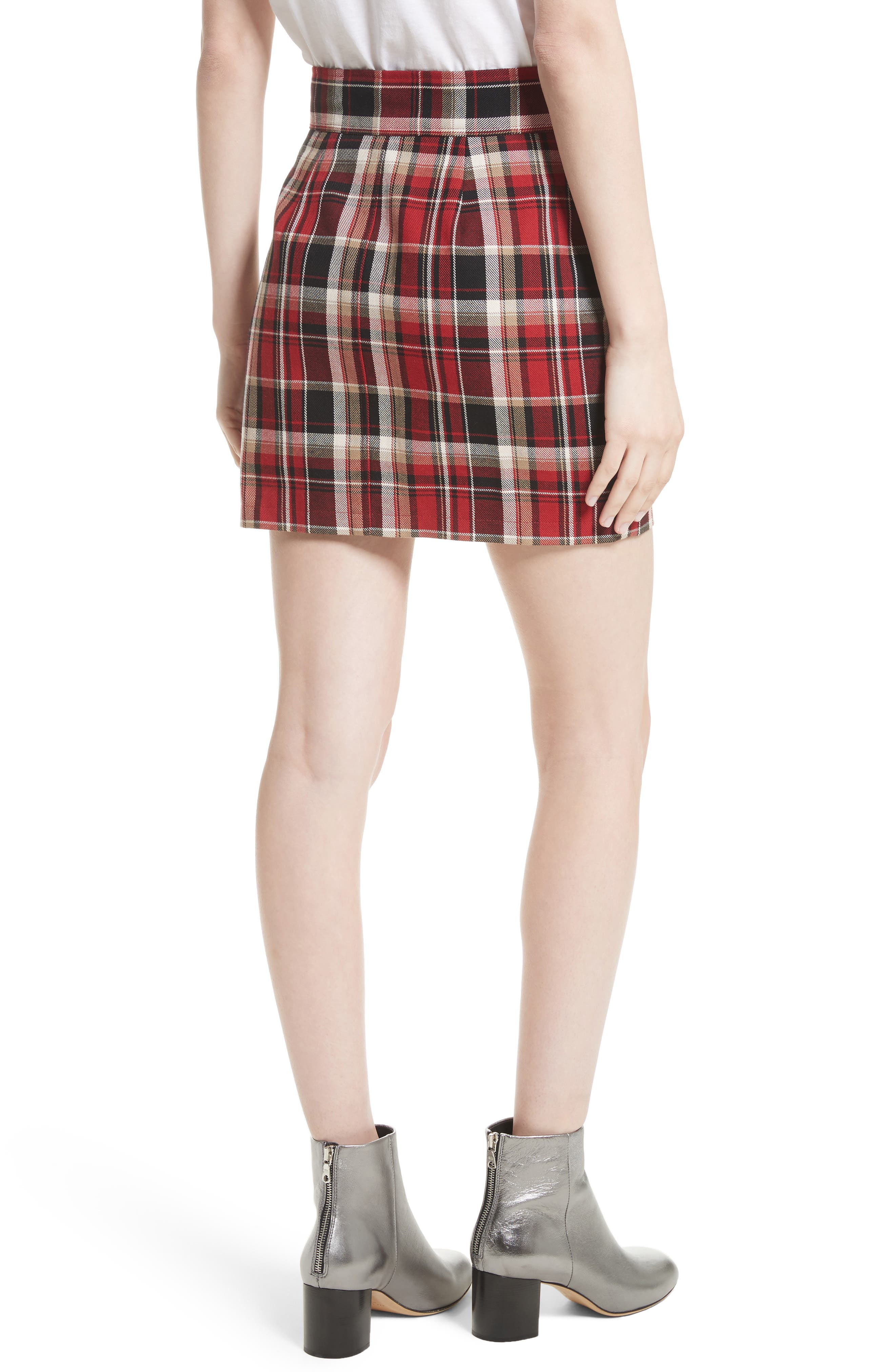 Alternate Image 3  - rag & bone Leah Plaid Skirt
