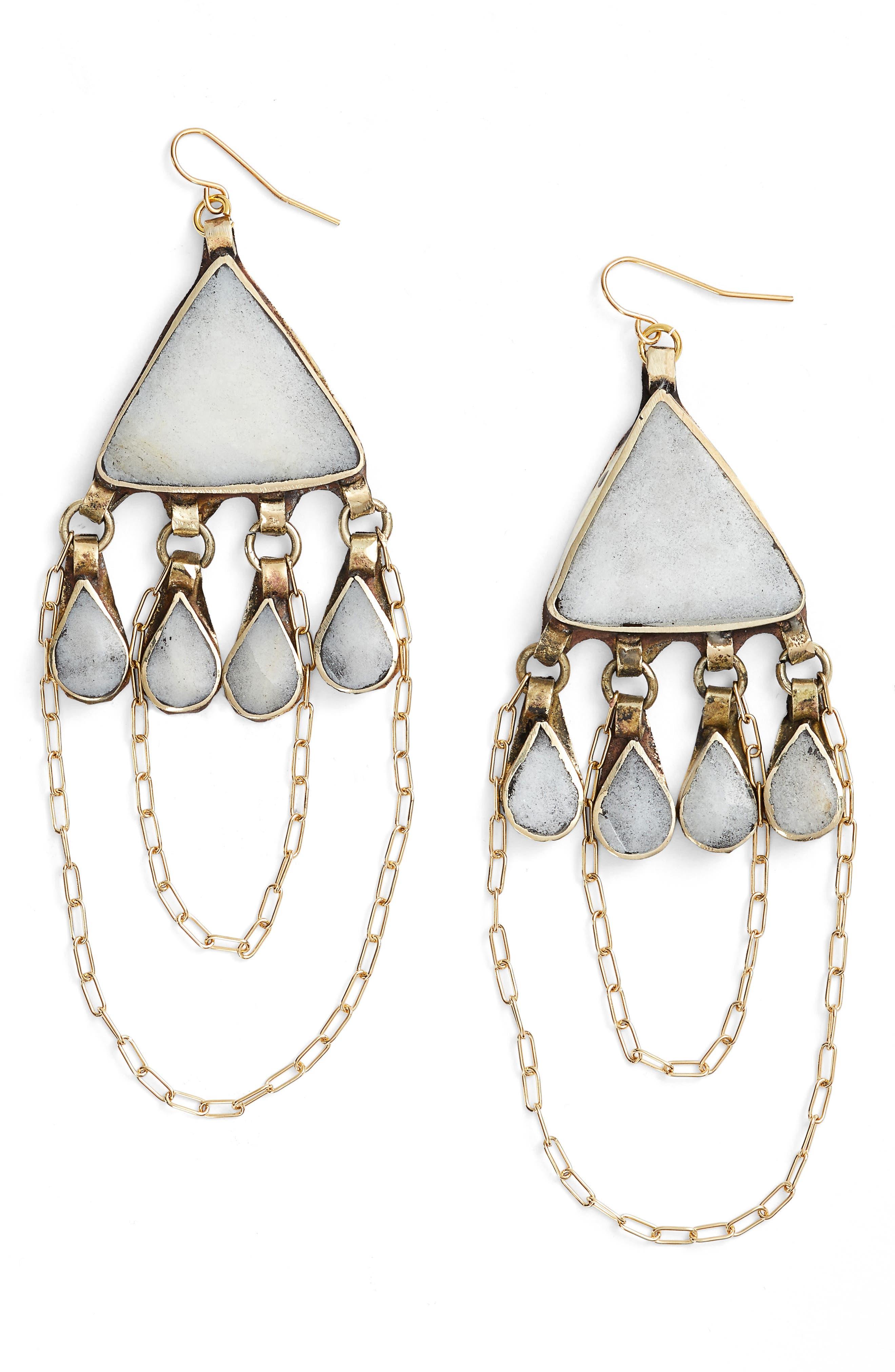 VANESSA MOONEY Gia Drop Earrings