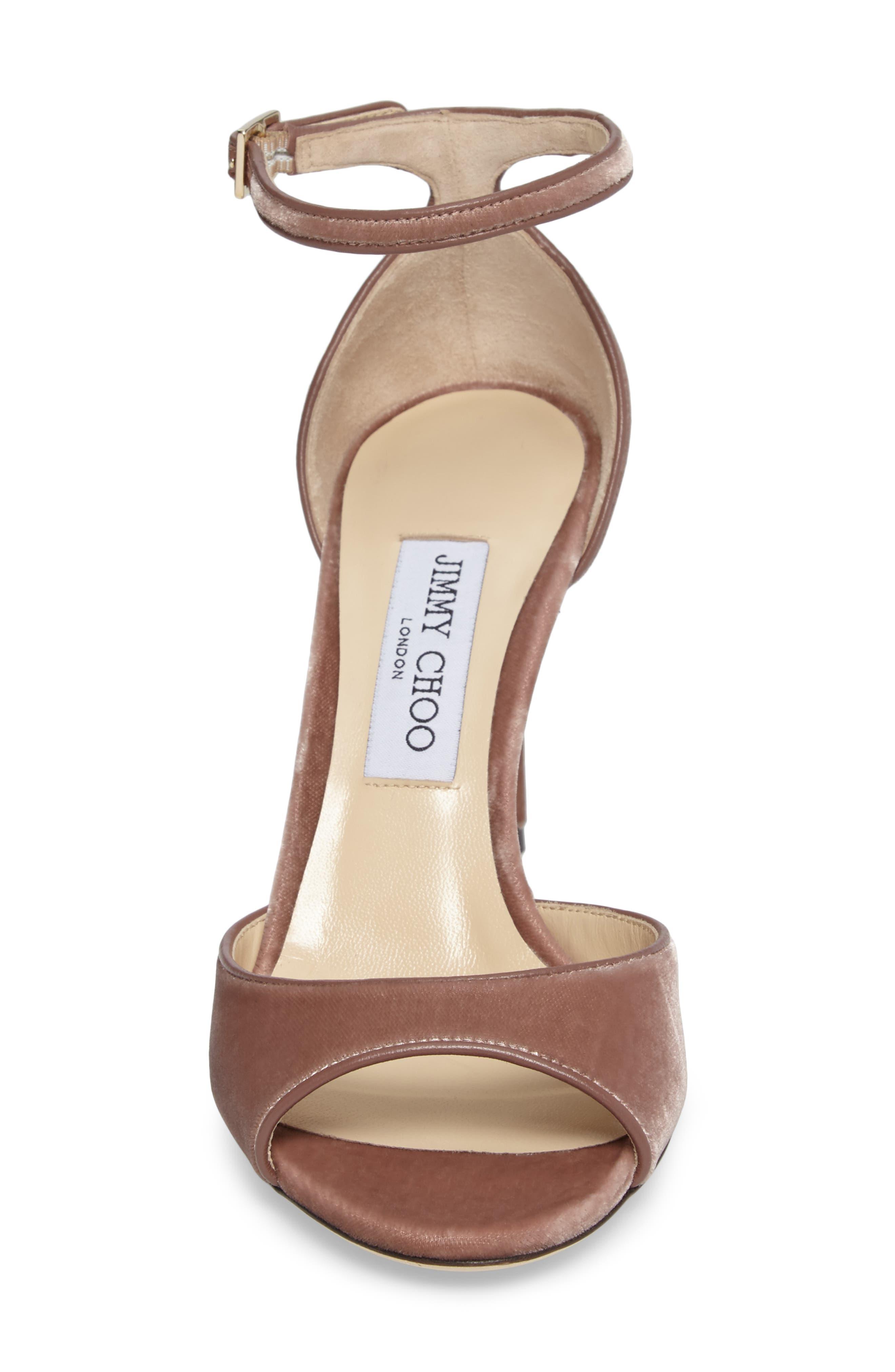 Alternate Image 4  - Jimmy Choo Annie Ankle Strap Sandal (Women)
