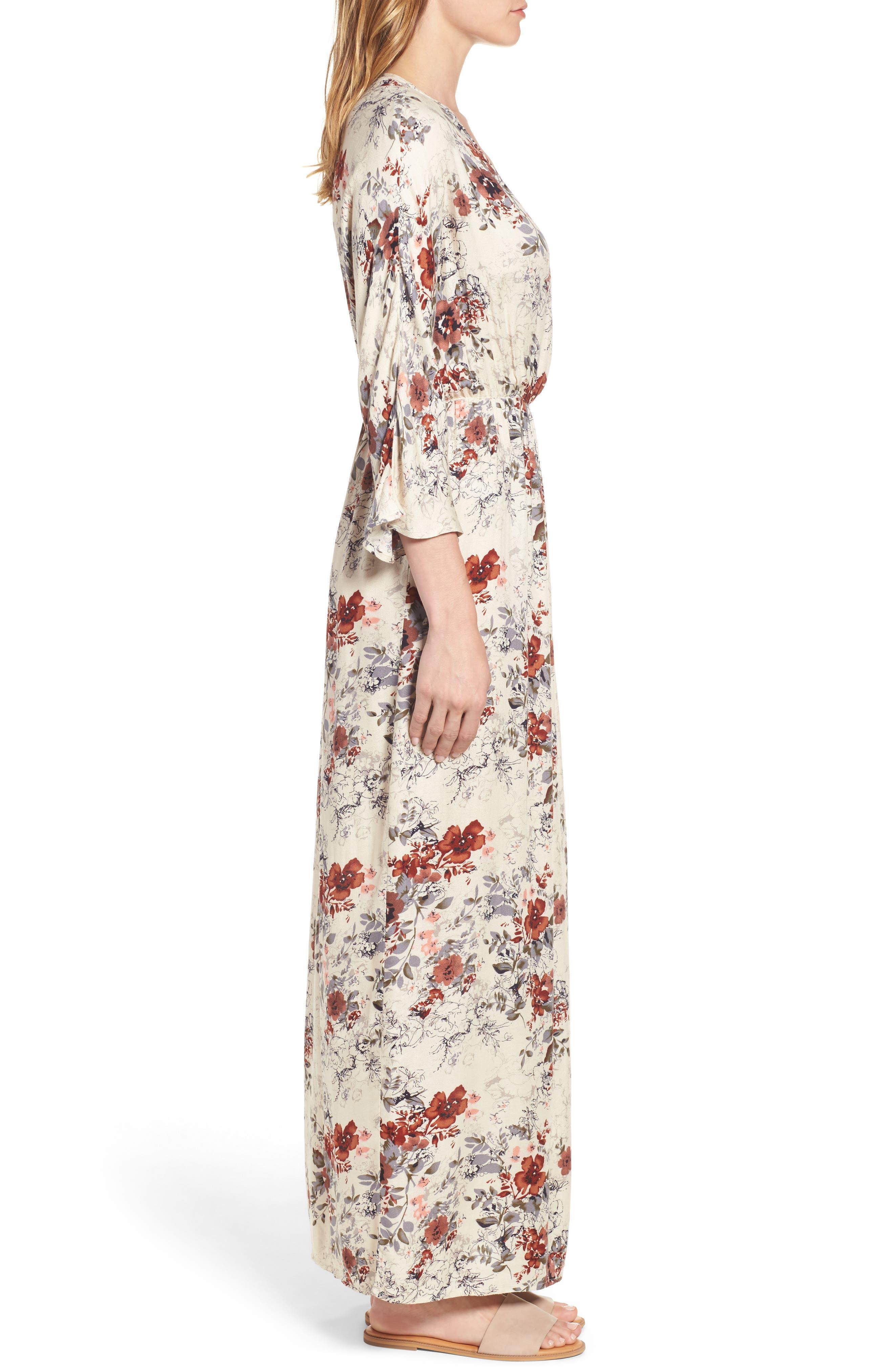 Alternate Image 3  - Hinge Blouson Maxi Dress