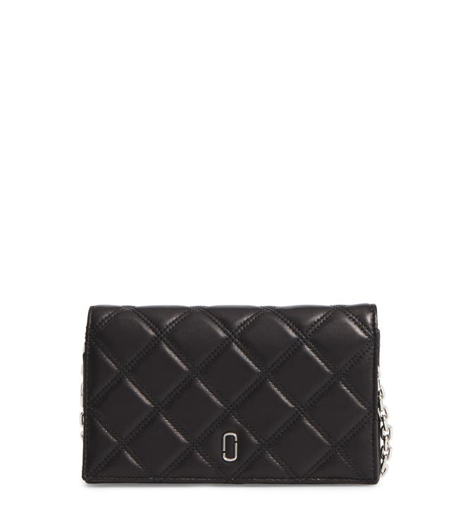 MARC JACOBS Quilted Leather Wallet on a Chain | Nordstrom : marc jacobs quilted wallet - Adamdwight.com