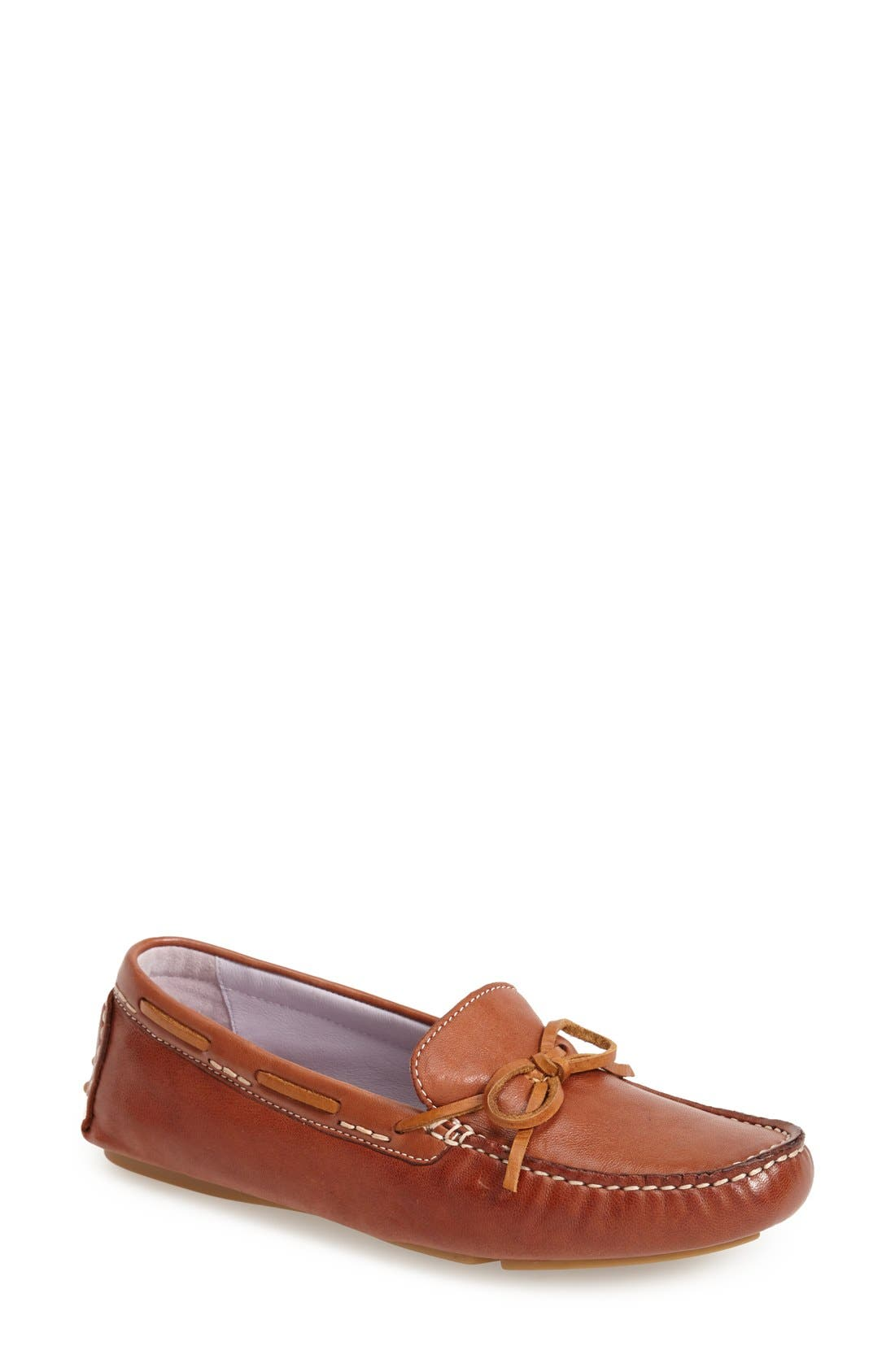 Alternate Image 1 Selected - Johnston & Murphy 'Maggie' Moccasin