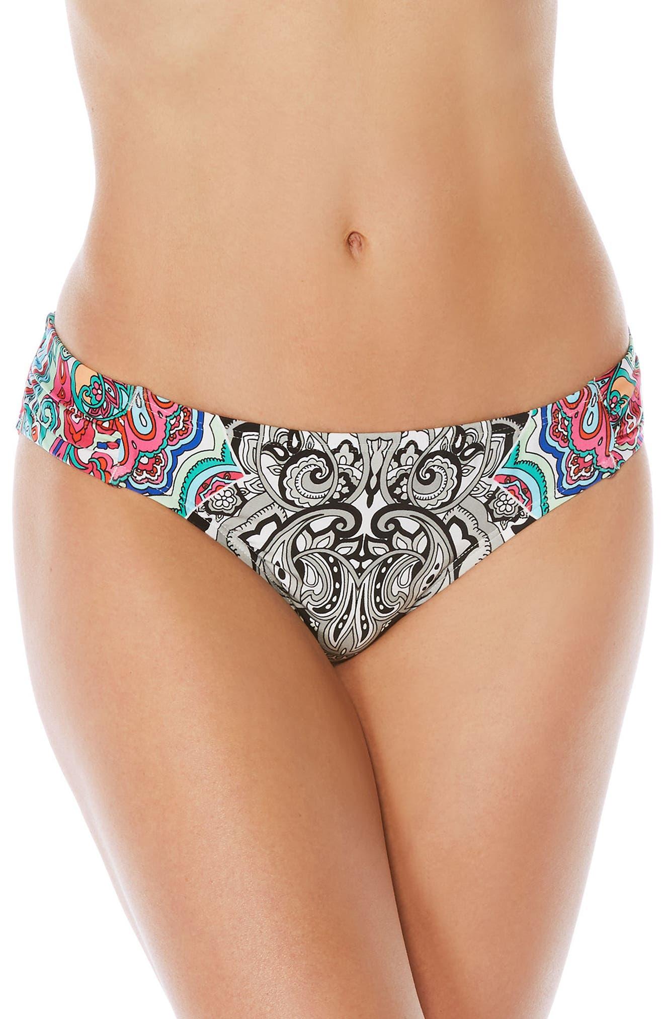Alternate Image 1 Selected - Laundry by Shelli Segal Print Bikini Bottoms