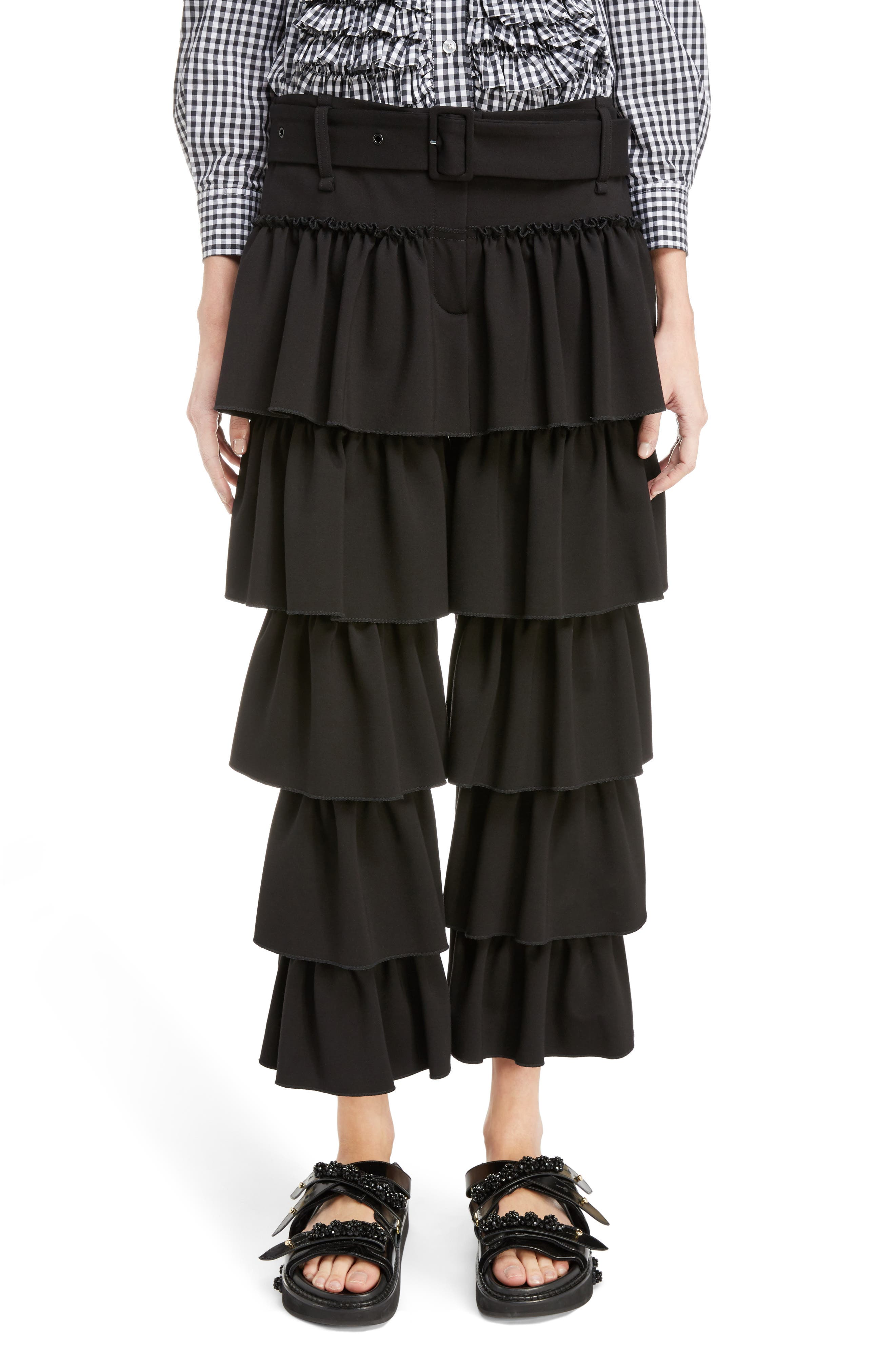 Simone Rocha Frill Front Trousers
