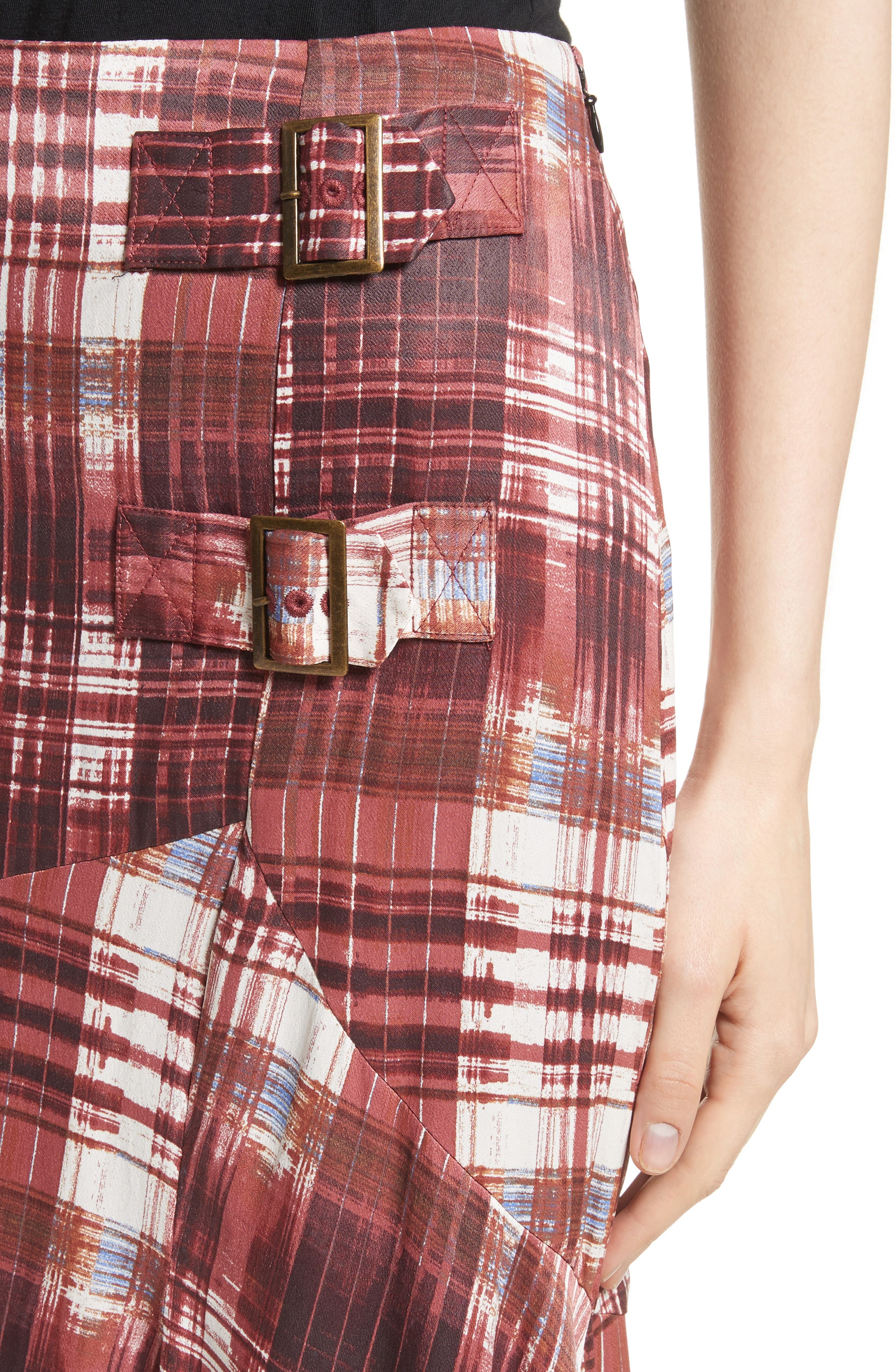 Alternate Image 4  - Free People Season of the Wind Midi Skirt