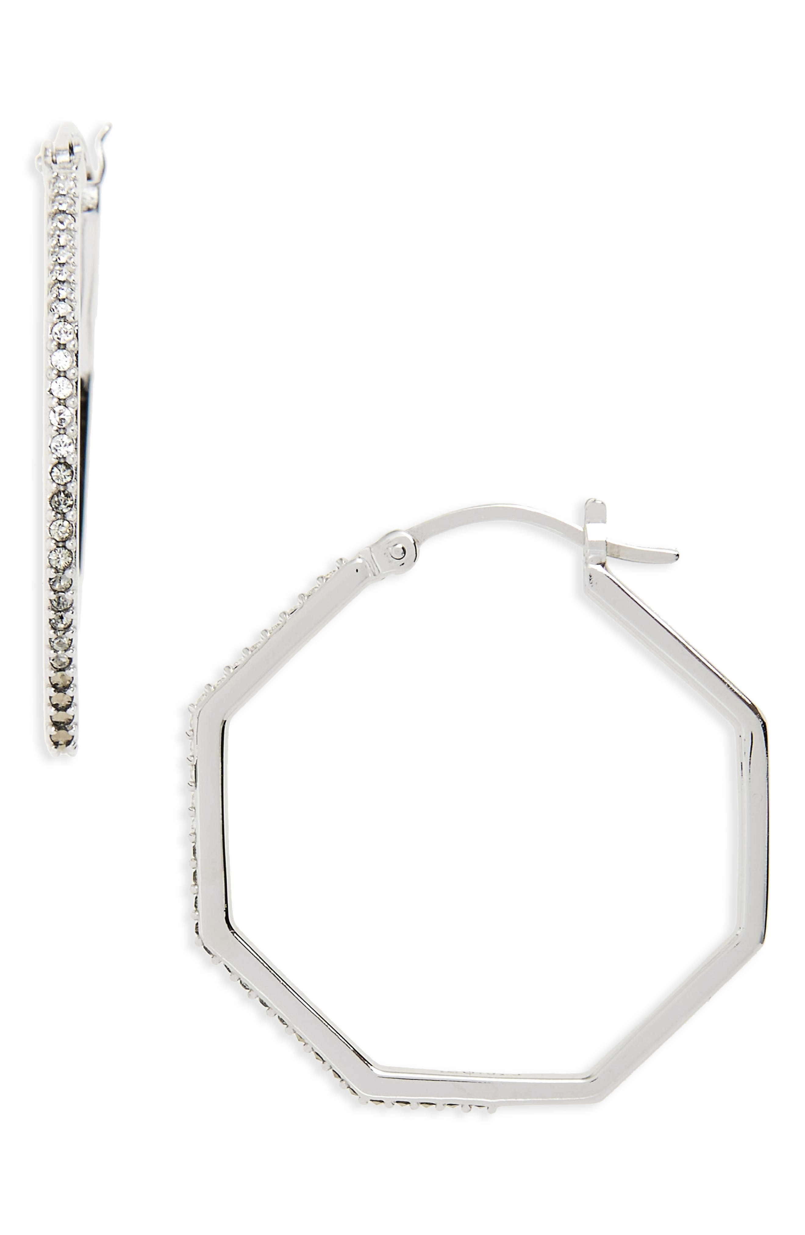 Judith Jack Paradise Hoop Earrings