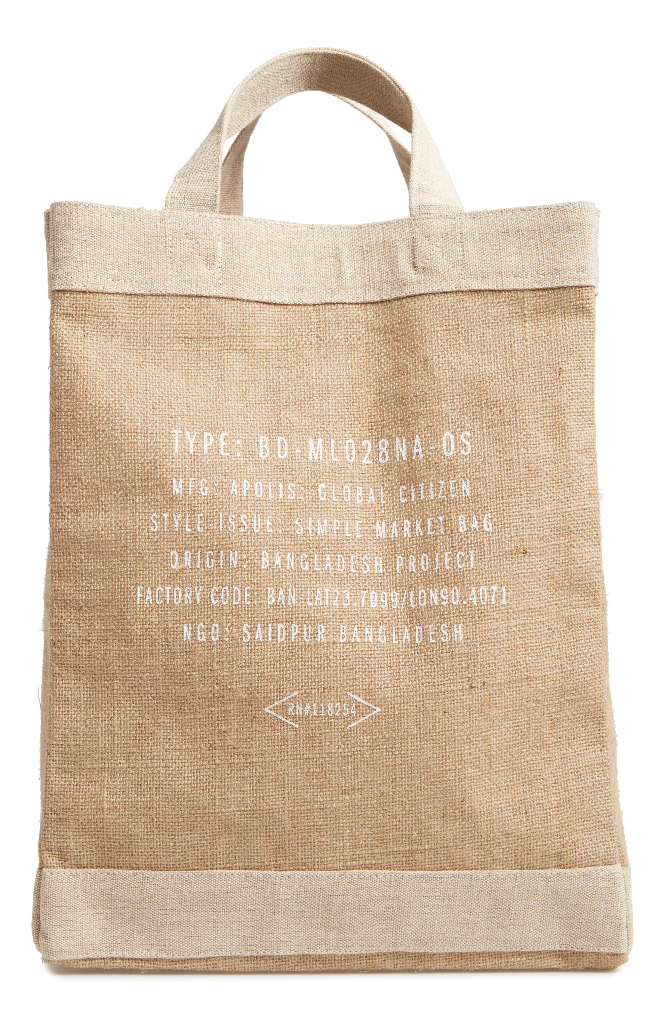 Alternate Image 2  - Apolis San Francisco Simple Market Bag