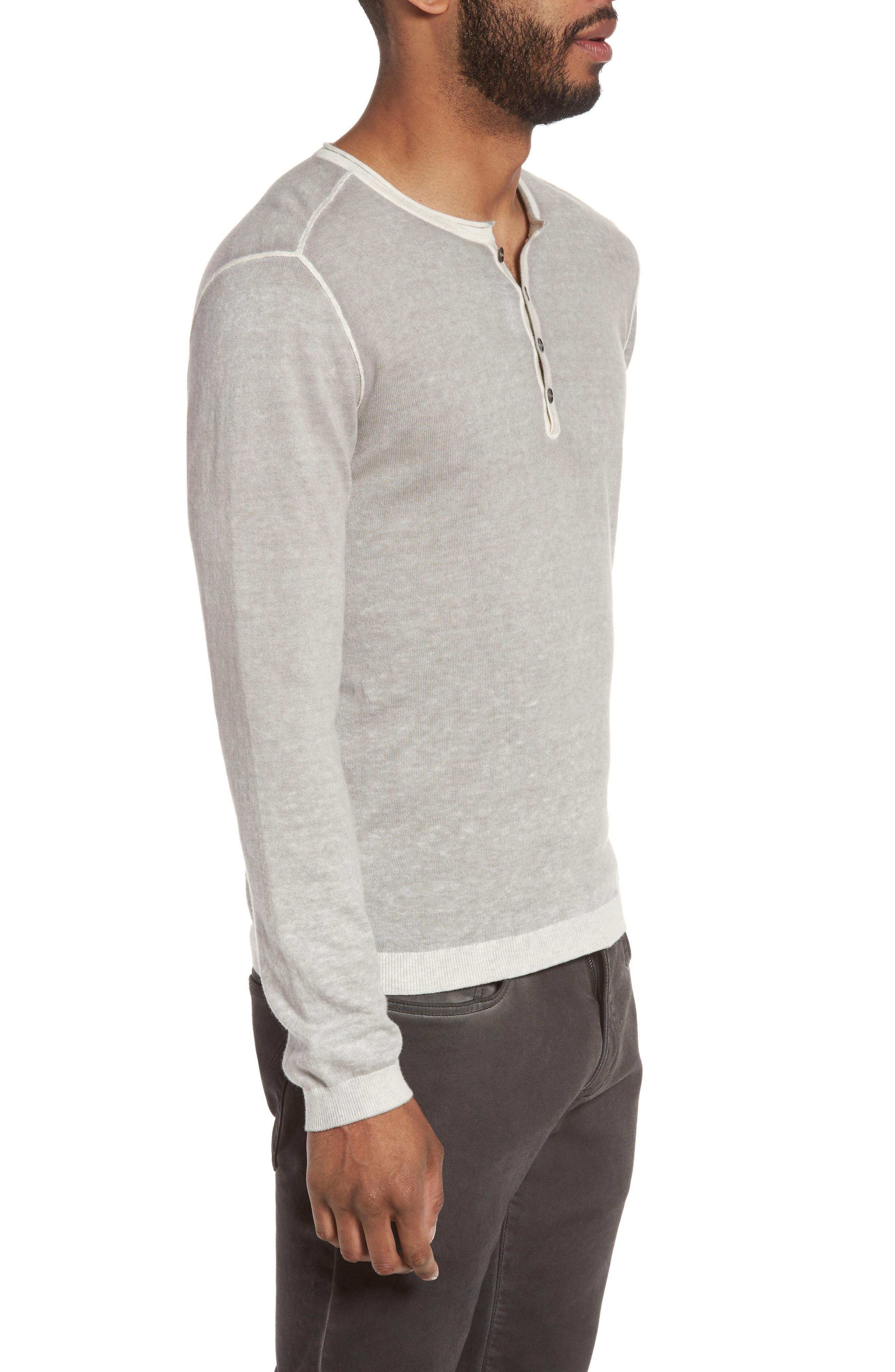 Alternate Image 3  - John Varvatos Star USA Henley Sweater