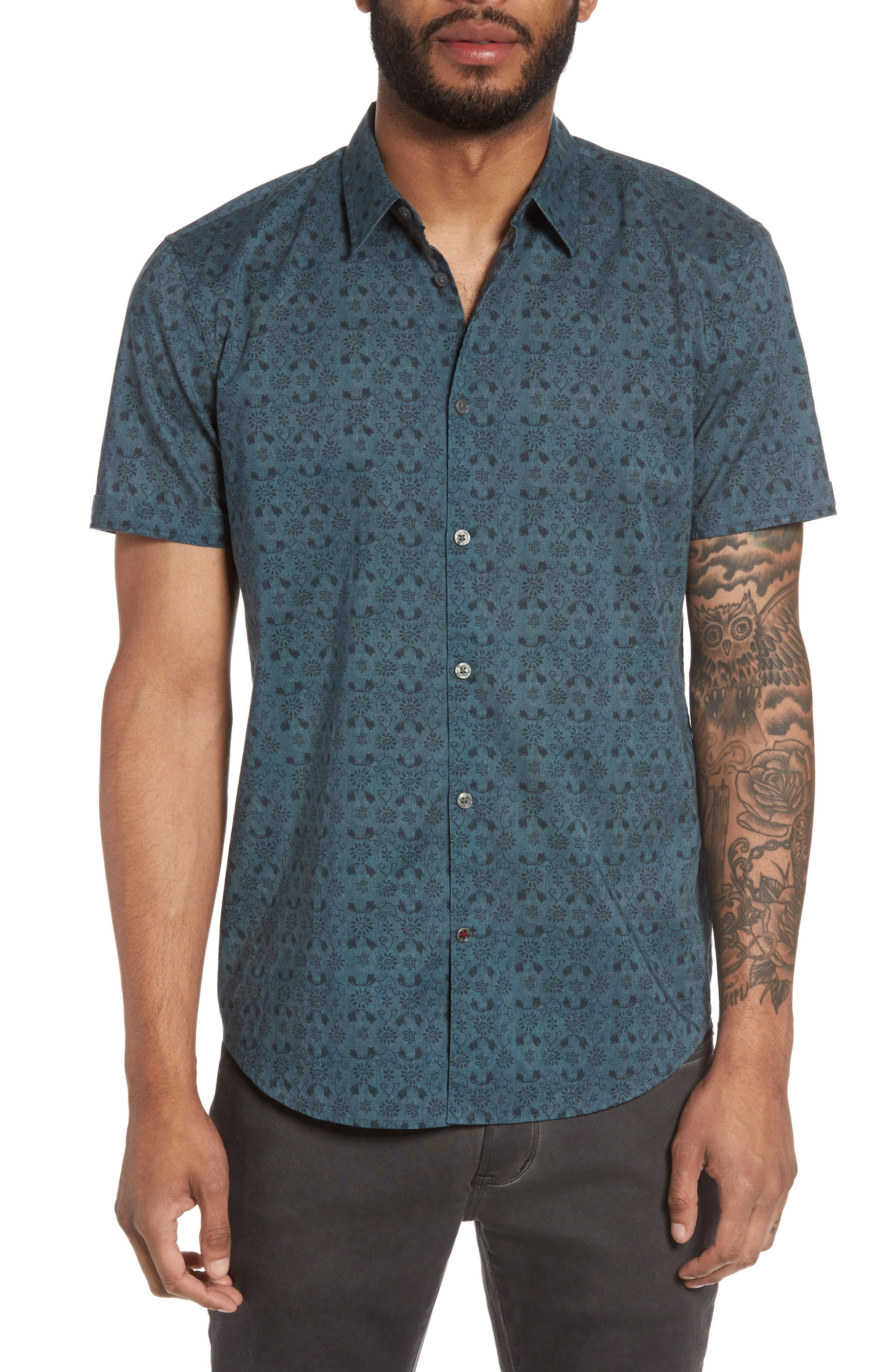 John Varvatos Star USA Cotton Sport Shirt
