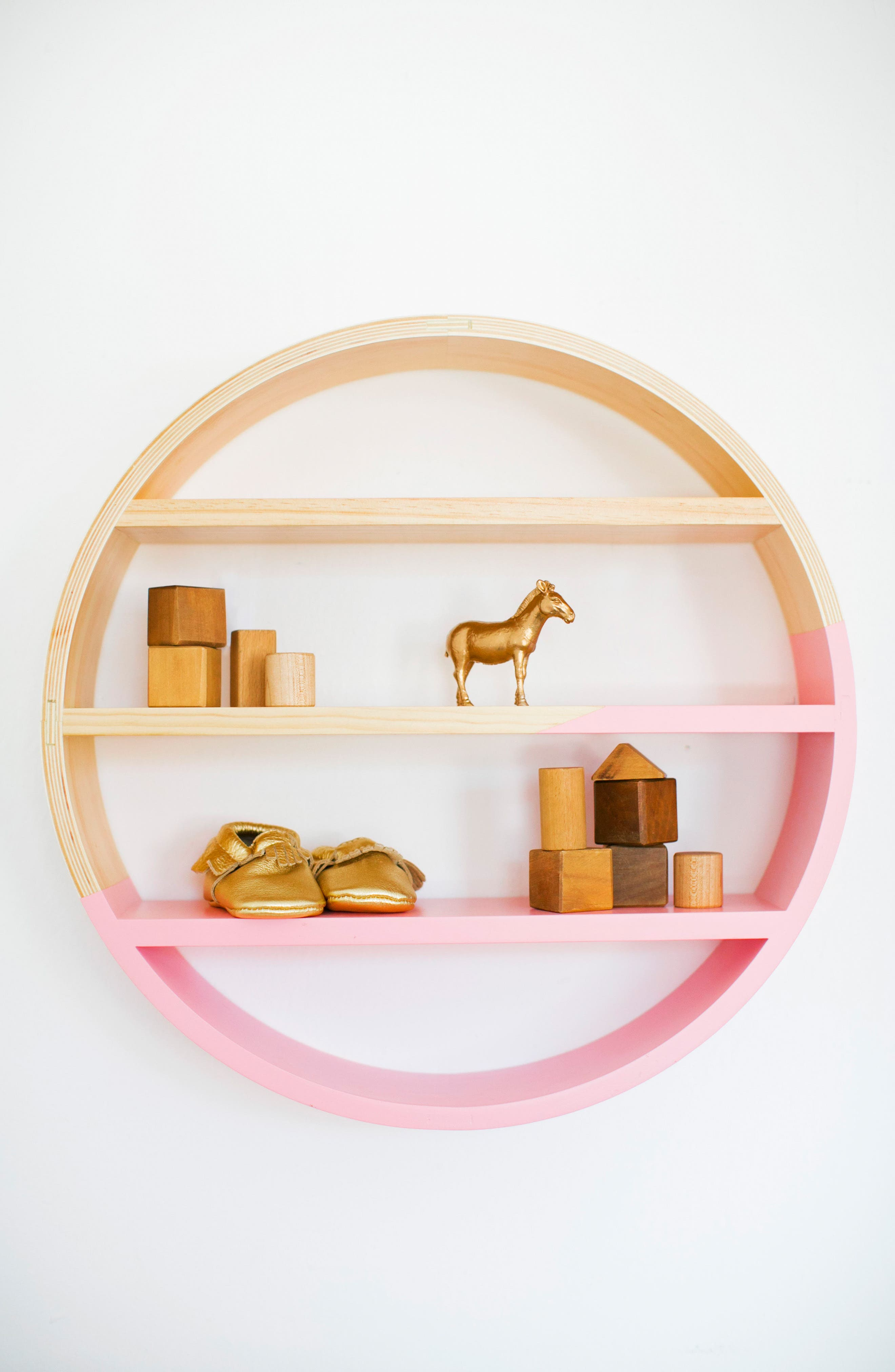 Petunia Pickle Bottom Dreaming in Dax Wooden Wall Shelf