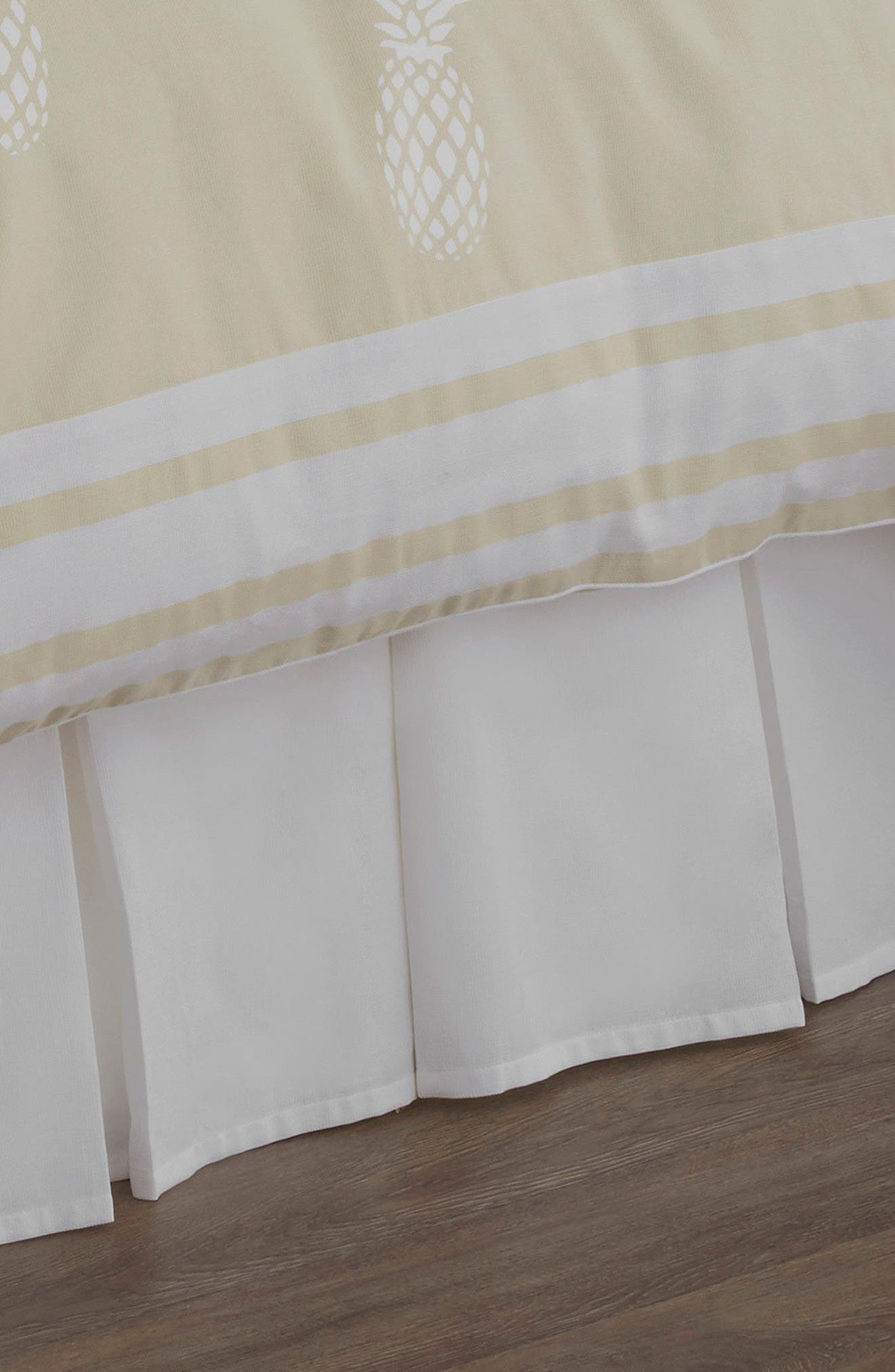 Southern Hospitality Bed Skirt,                         Main,                         color, White