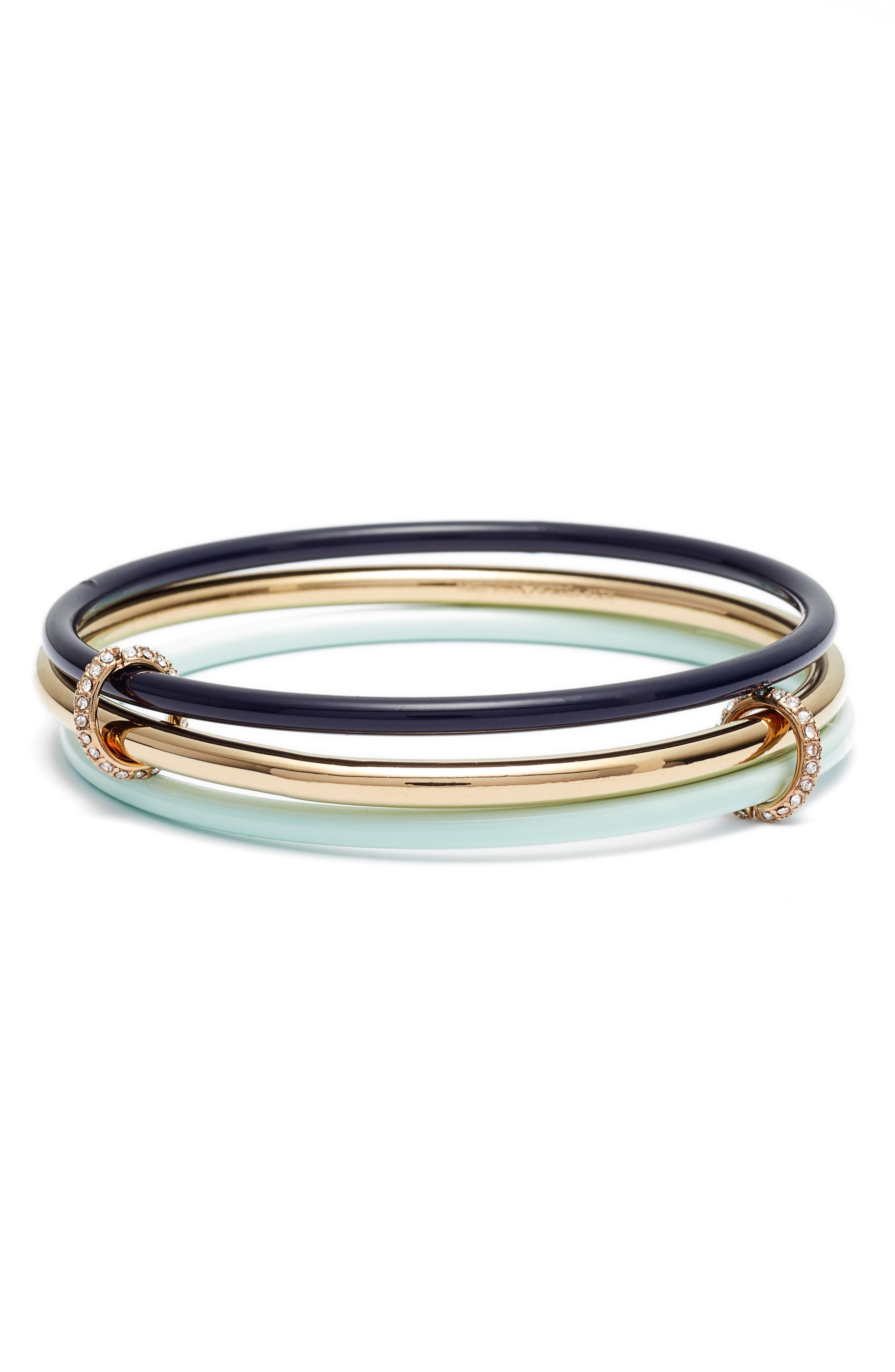 in a flash set of three bangles,                         Main,                         color, Navy Multi