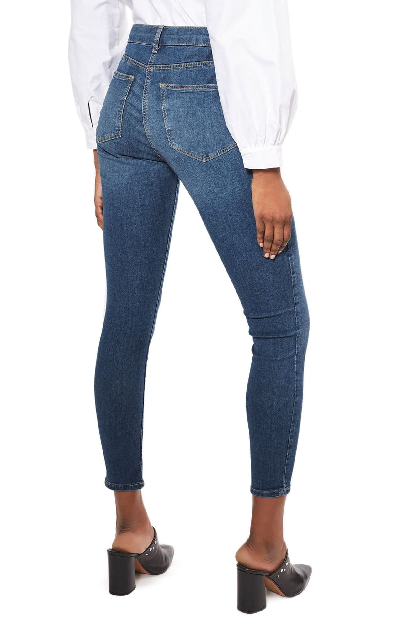 Alternate Image 2  - Topshop Leigh Skinny Jeans