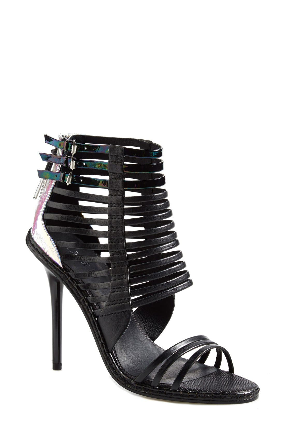Alternate Image 1 Selected - L.A.M.B. 'Brook' Leather Sandal (Women)
