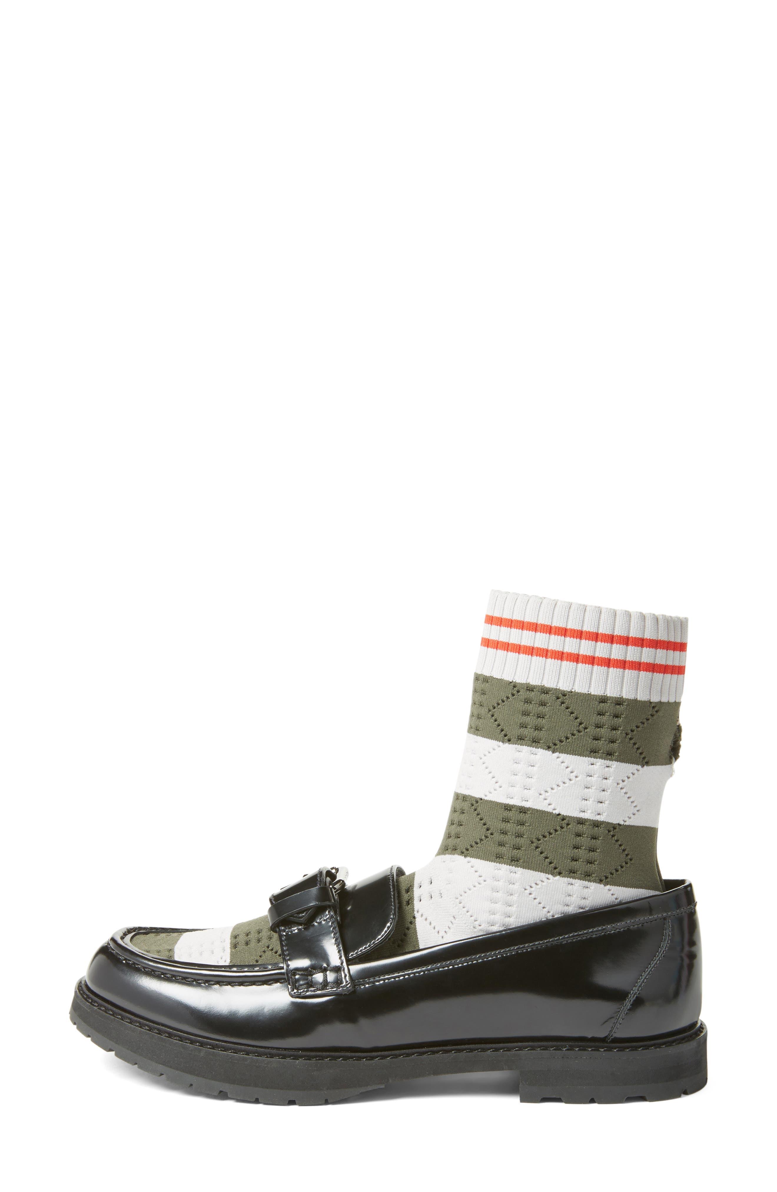 Alternate Image 3  - Fendi Marie Antoinette Sock Loafer (Women)