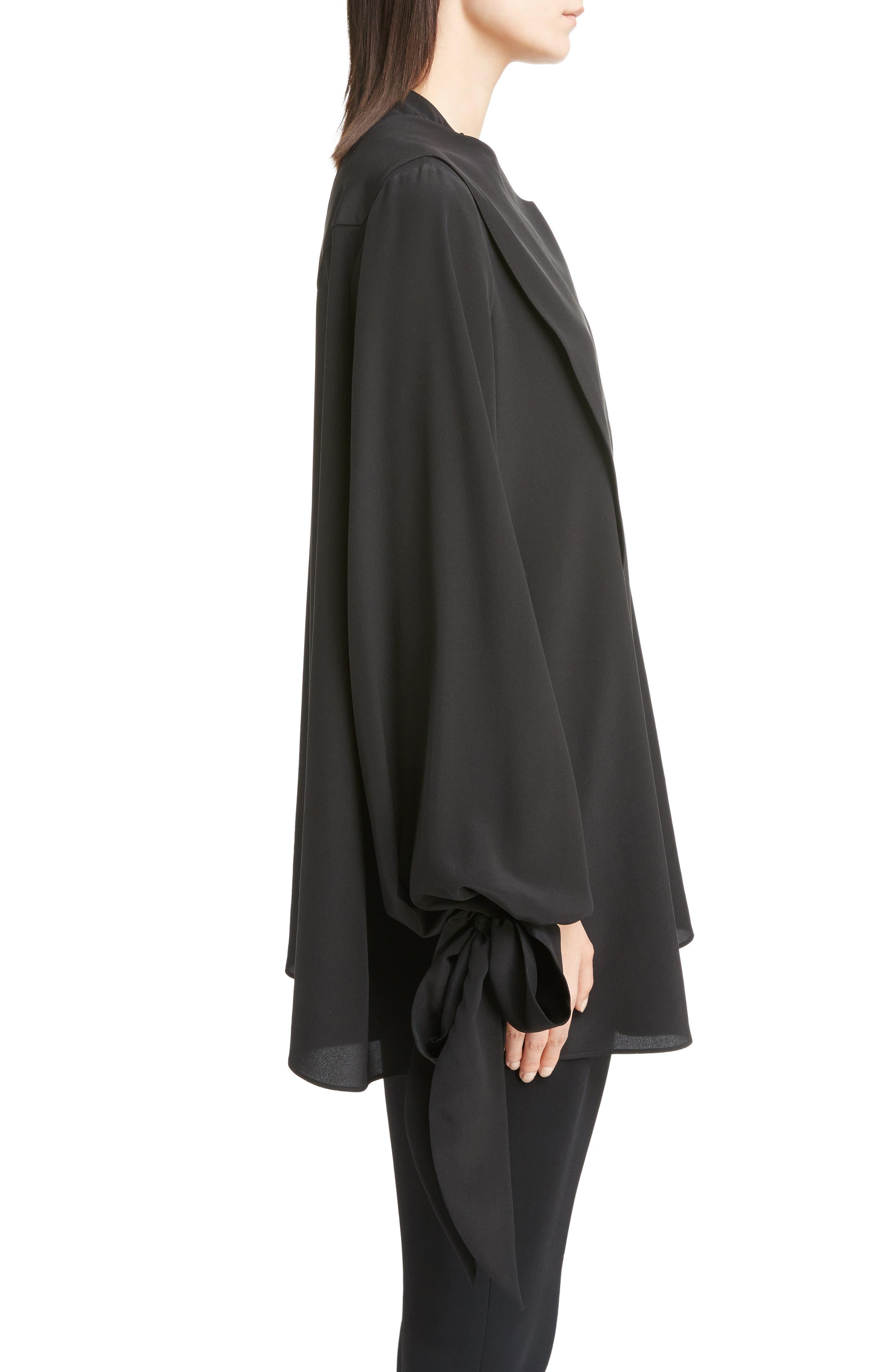 Alternate Image 3  - Givenchy Silk Drape Top