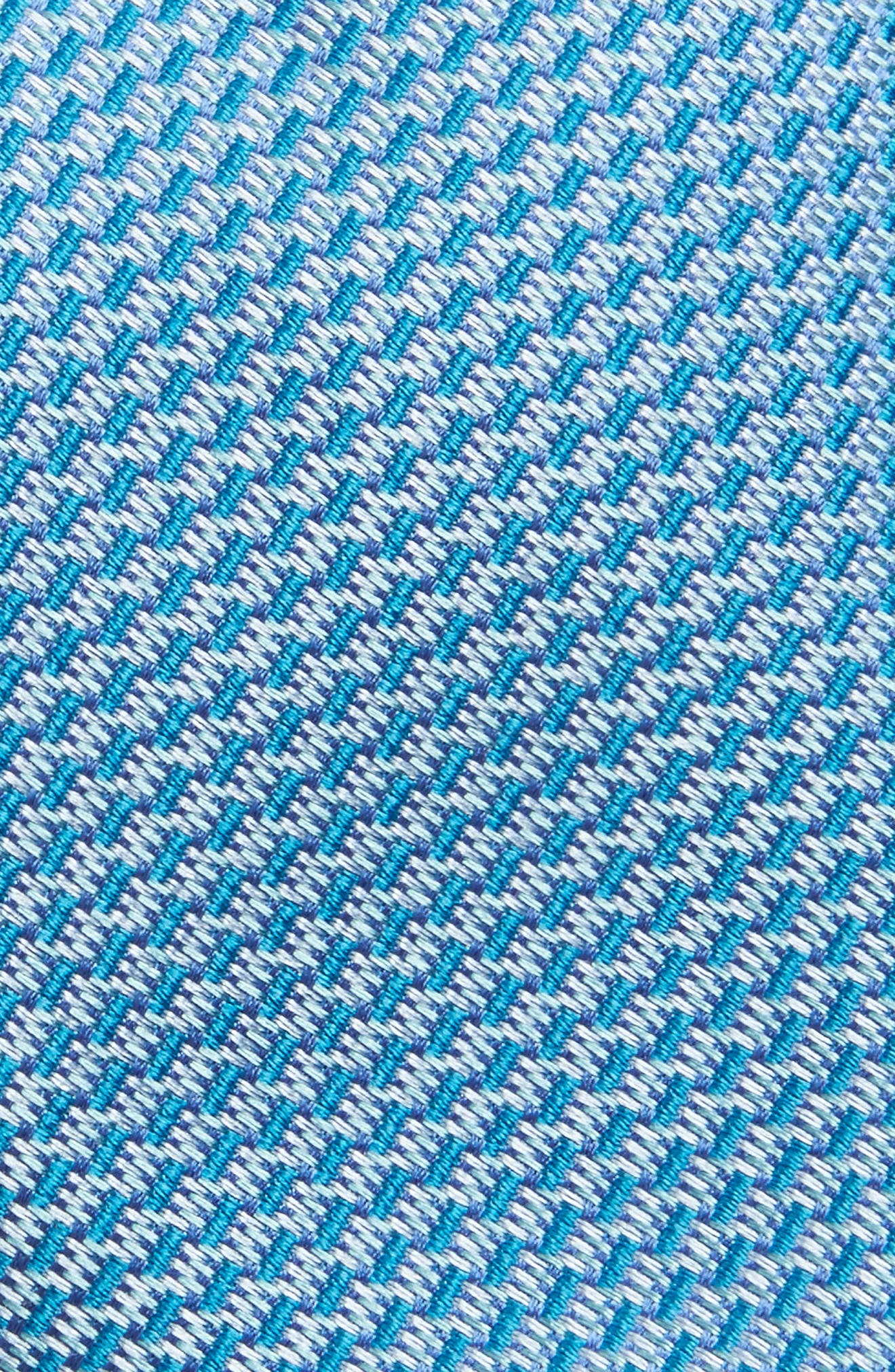 Solid Silk Tie,                             Alternate thumbnail 2, color,                             Teal