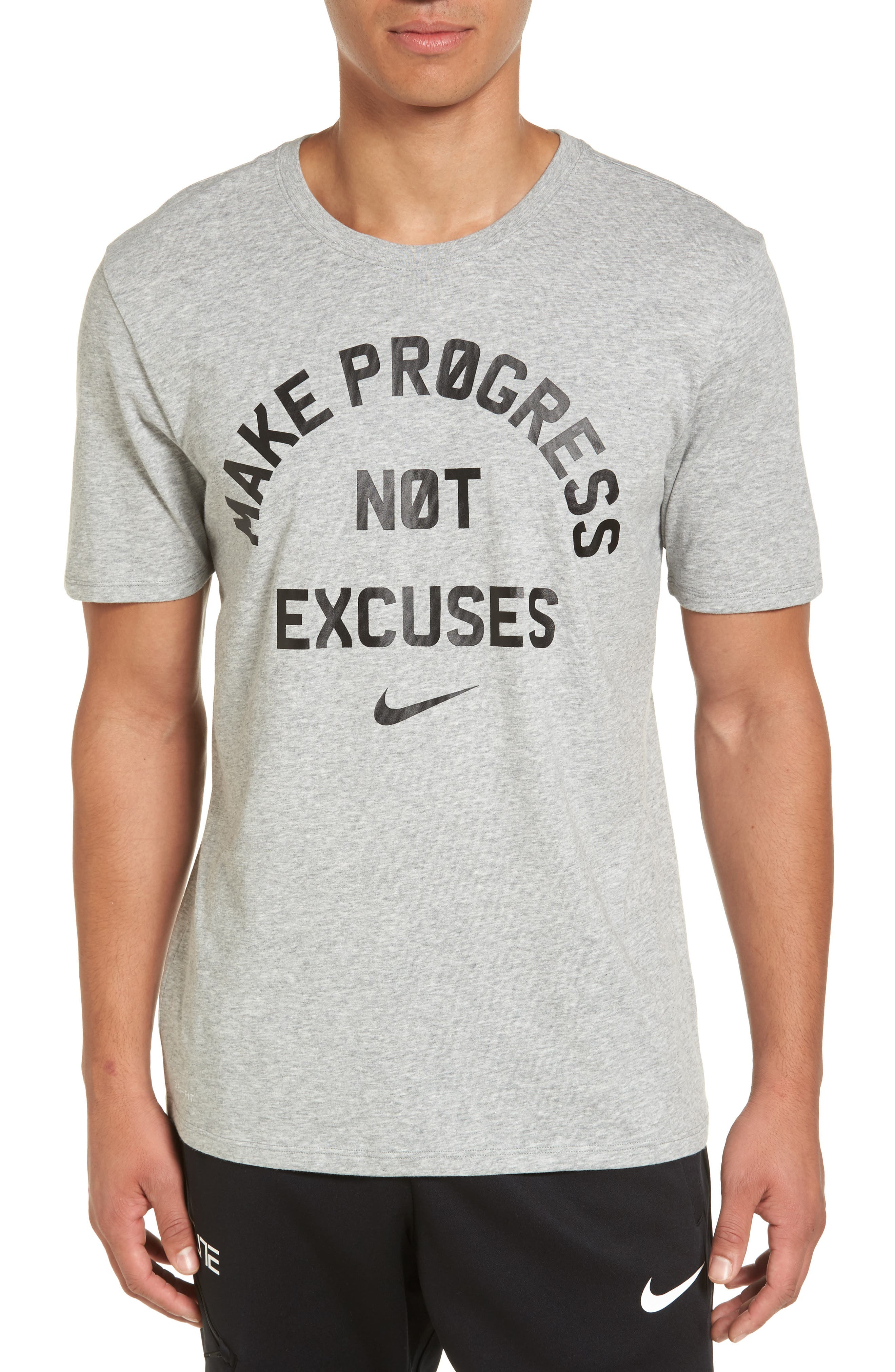 Alternate Image 1 Selected - Nike Dry No Excuses Training T-Shirt