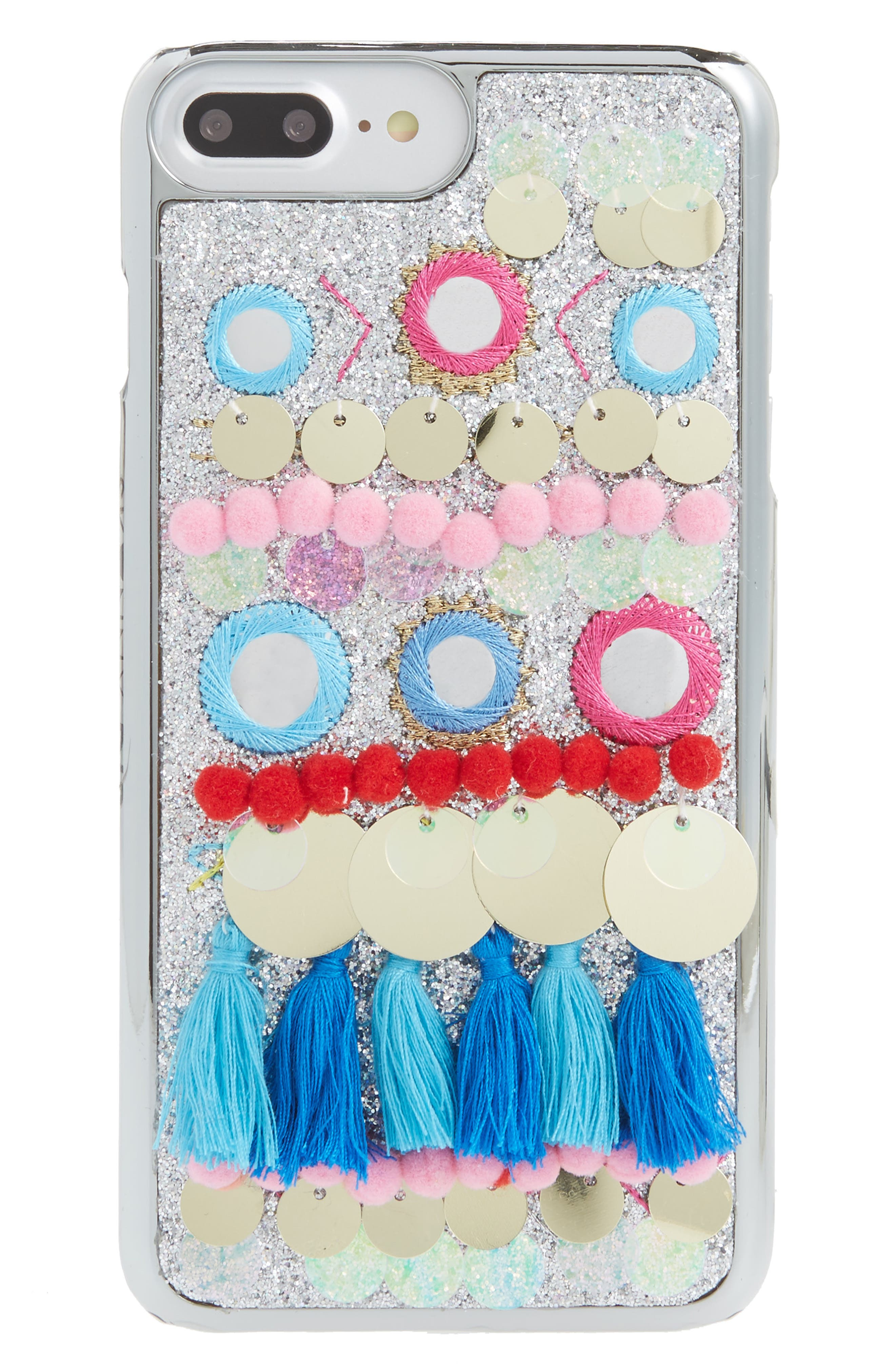 Cruz iPhone 6/7 & 6/7 Plus Case,                         Main,                         color, Blue
