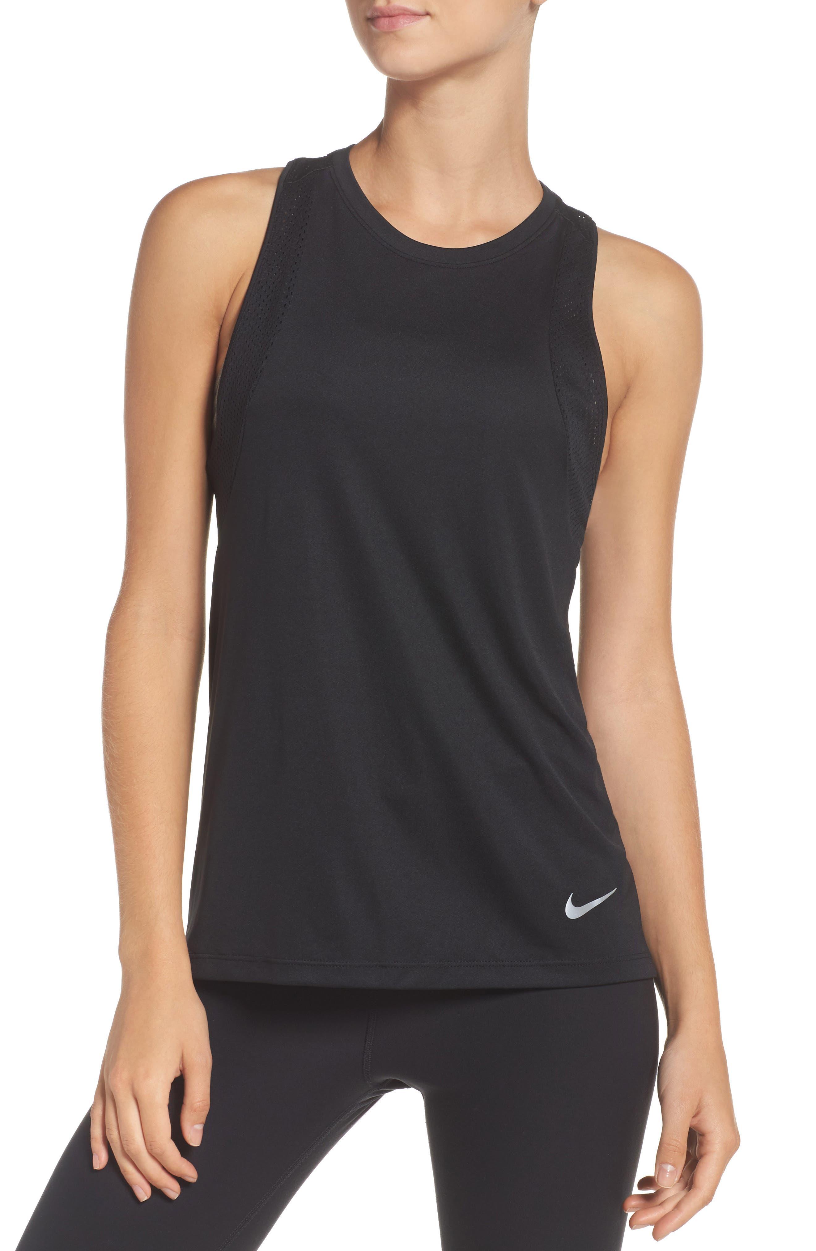 Main Image - Nike Dry Miler Running Tank