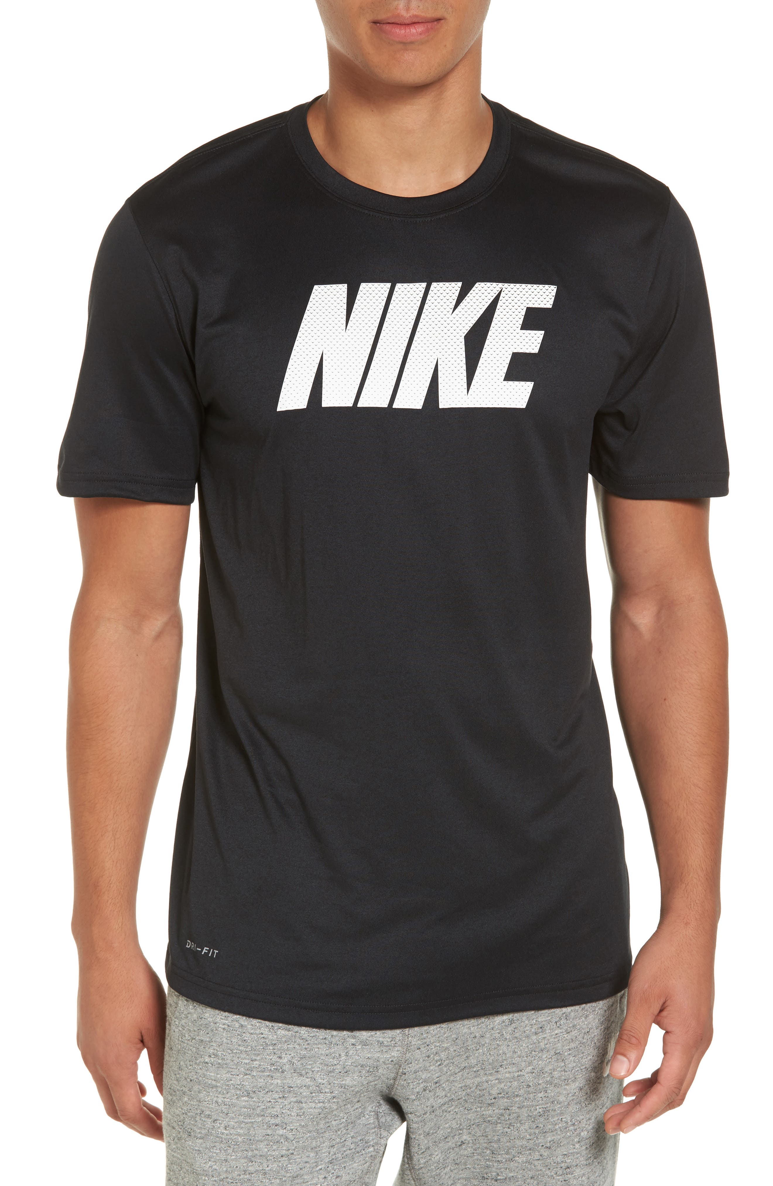 Dry Legend Training T-Shirt,                             Main thumbnail 1, color,                             Black