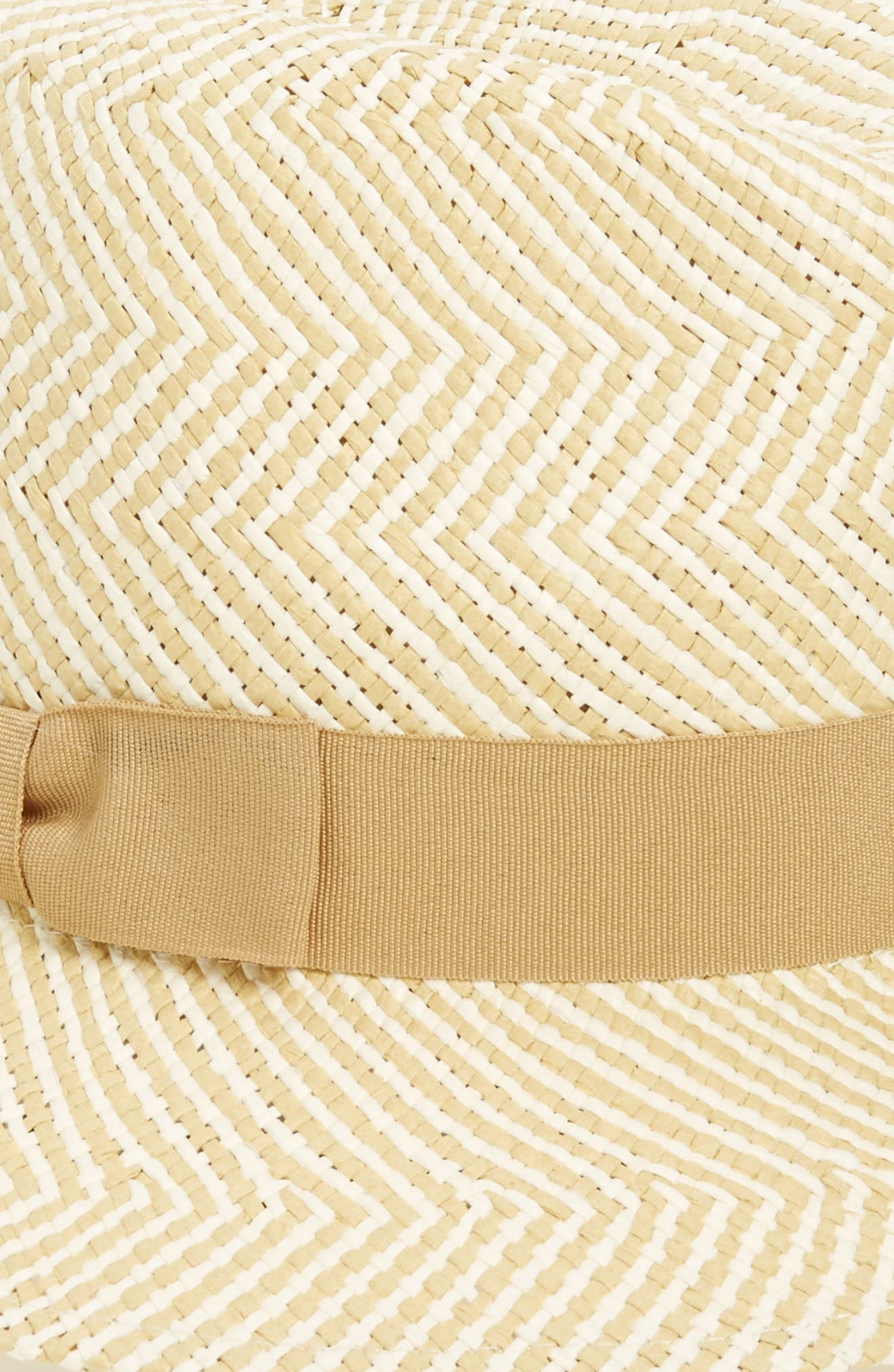 Alternate Image 2  - Halogen Zigzag Straw Panama Hat