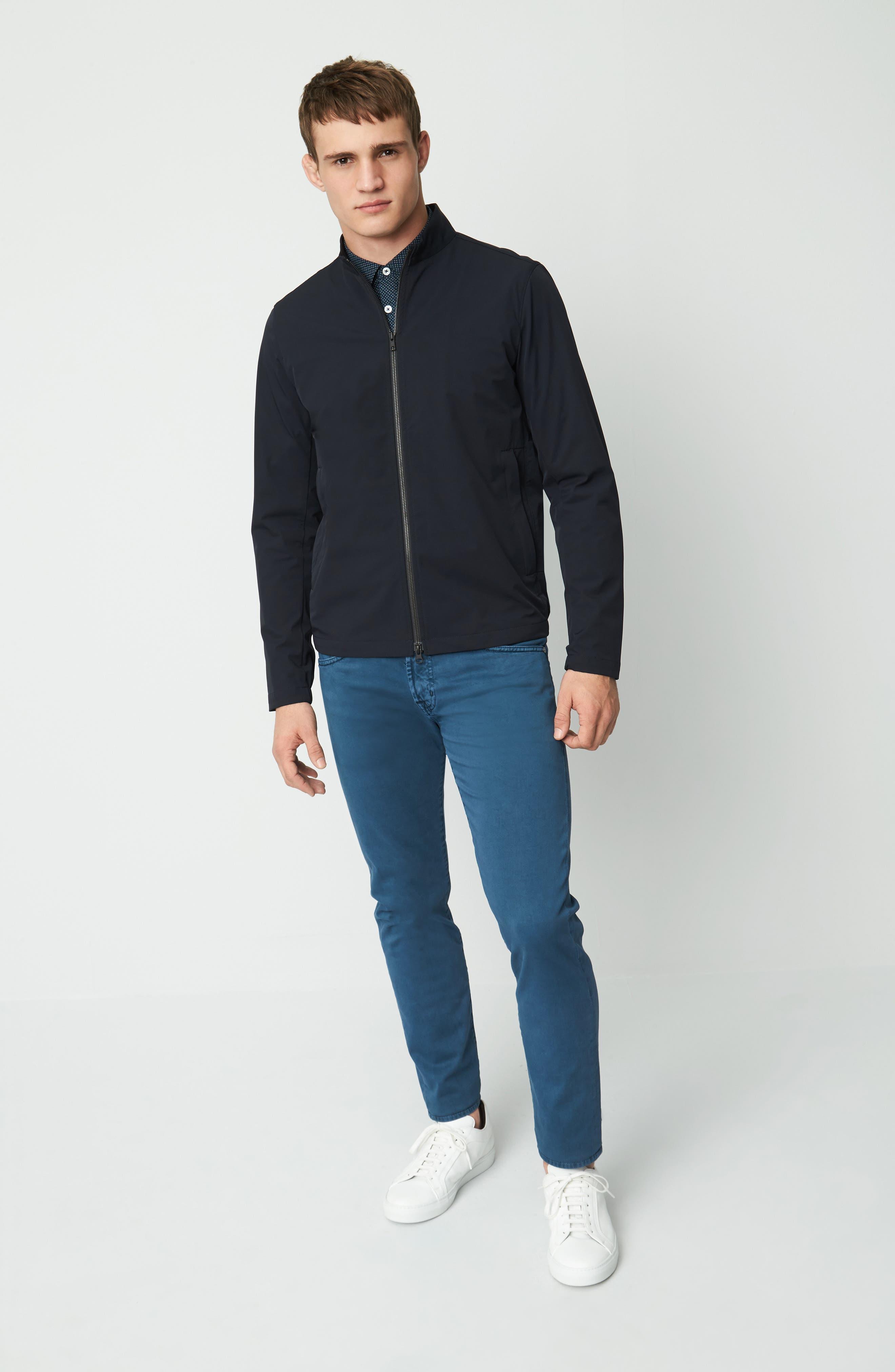 Scotty Bevan Zip Front Jacket,                             Alternate thumbnail 7, color,                             Eclipse