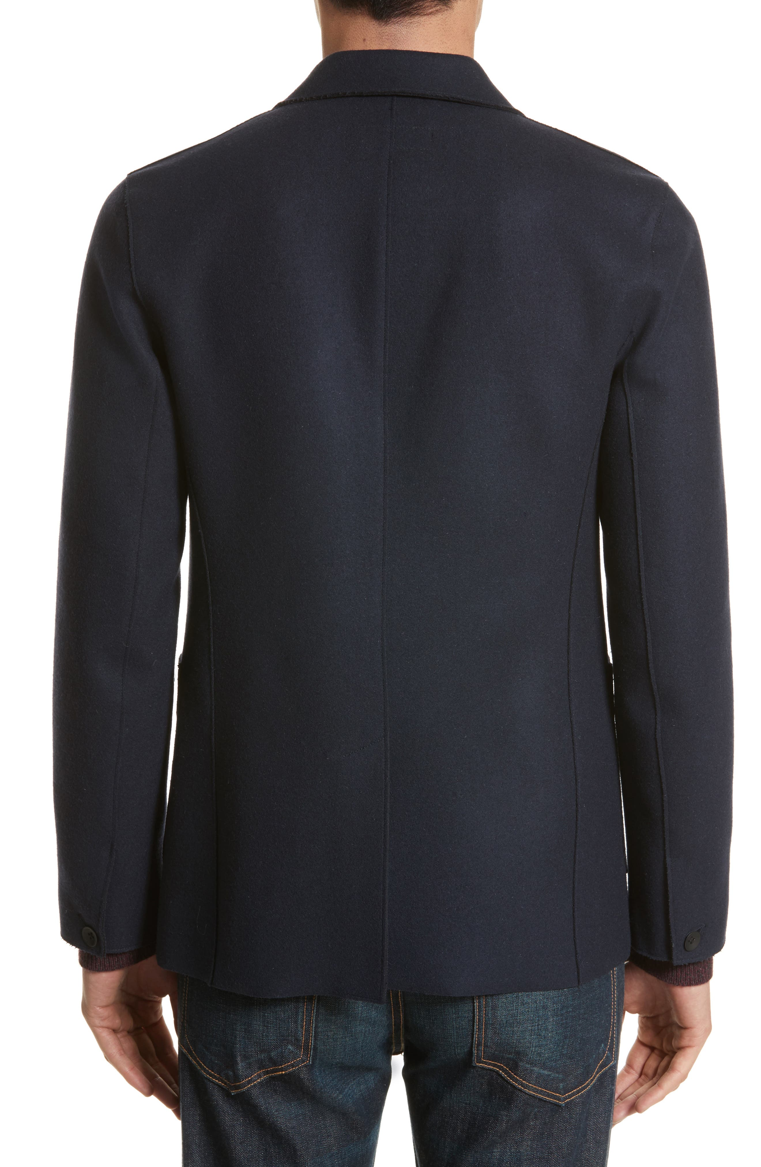 Alternate Image 2  - rag & bone Woodall Wool Blend Blazer
