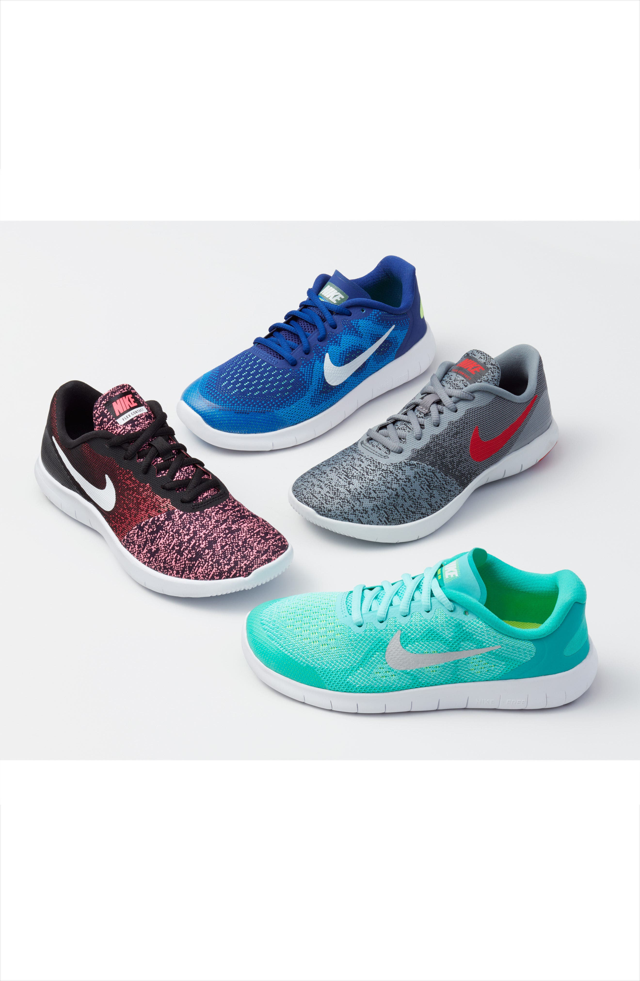 Alternate Image 7  - Nike Flex Contact Running Shoe (Baby, Walker, Toddler & Little Kid)