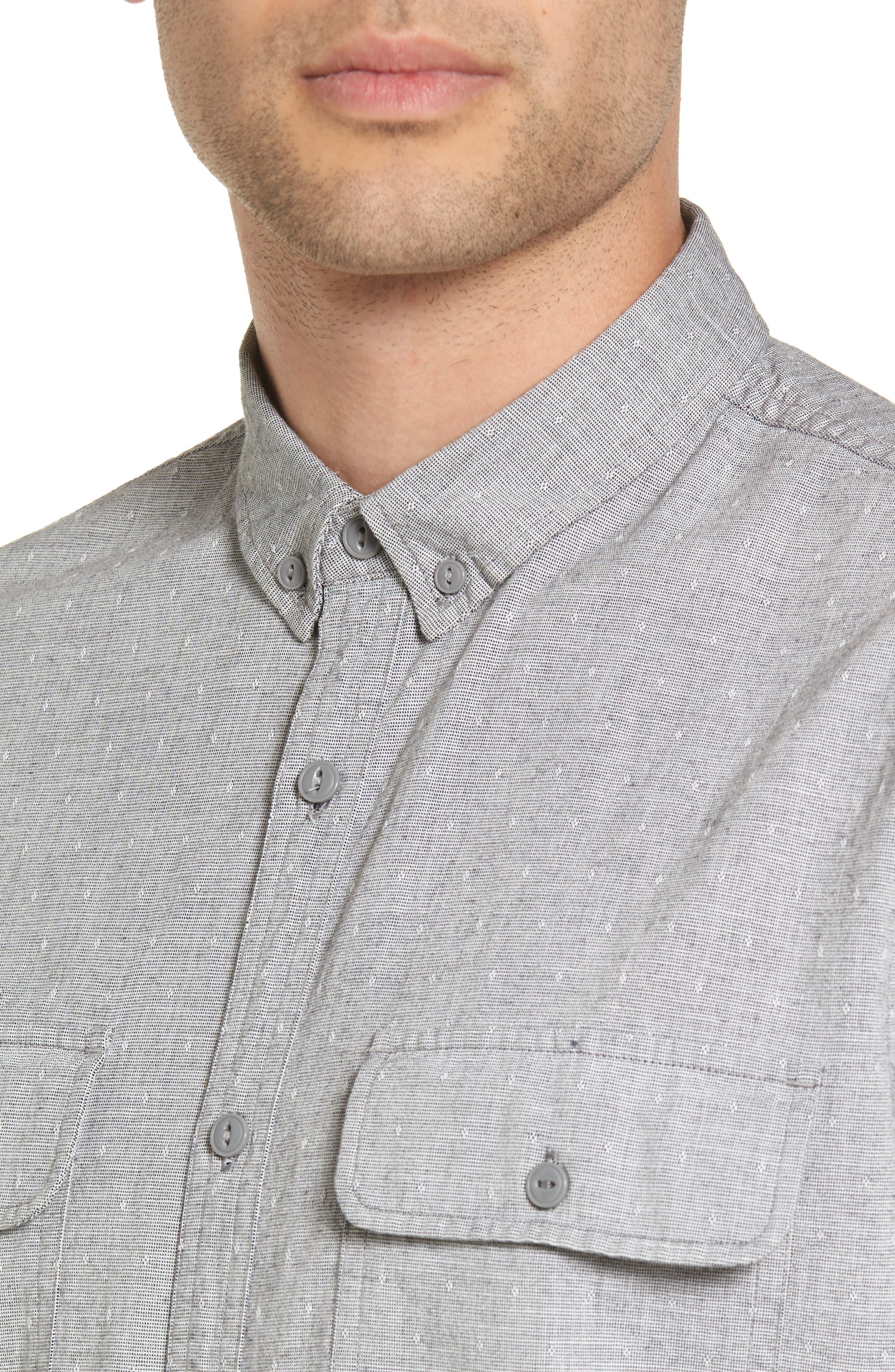 Alternate Image 4  - Treasure & Bond Woven Shirt
