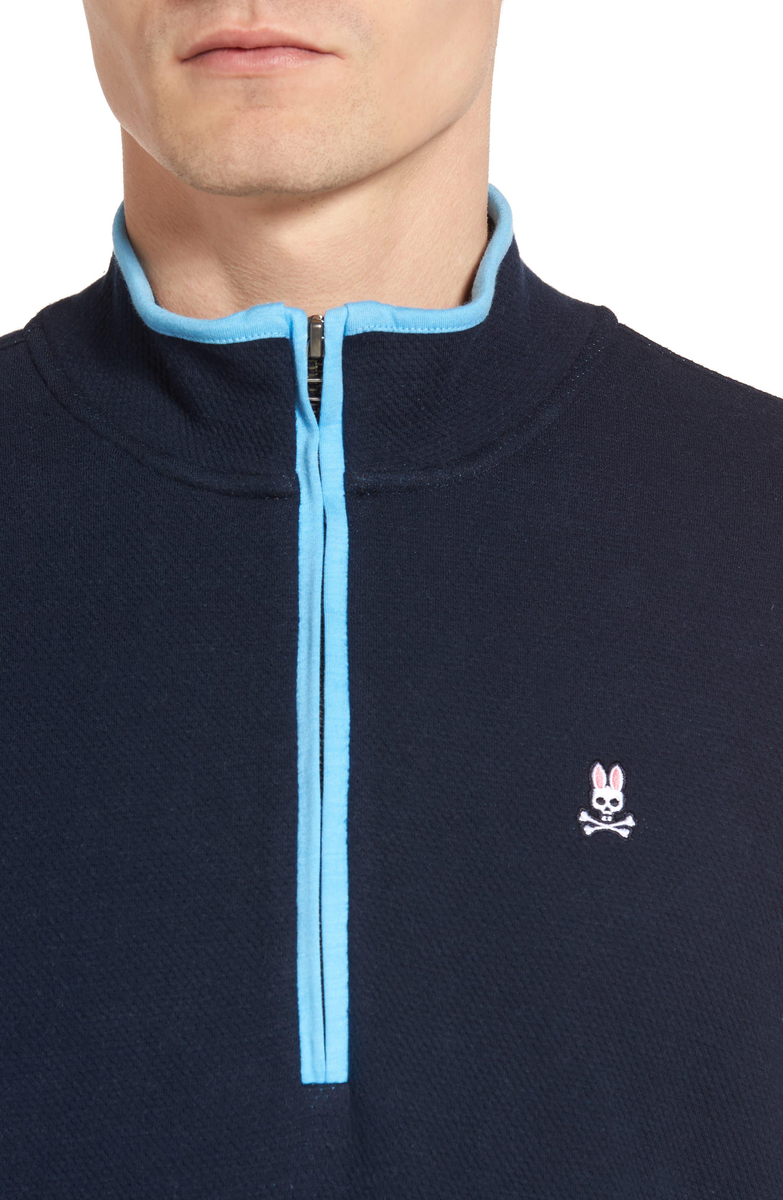 Alternate Image 4  - Psycho Bunny Golf Half Zip Pullover