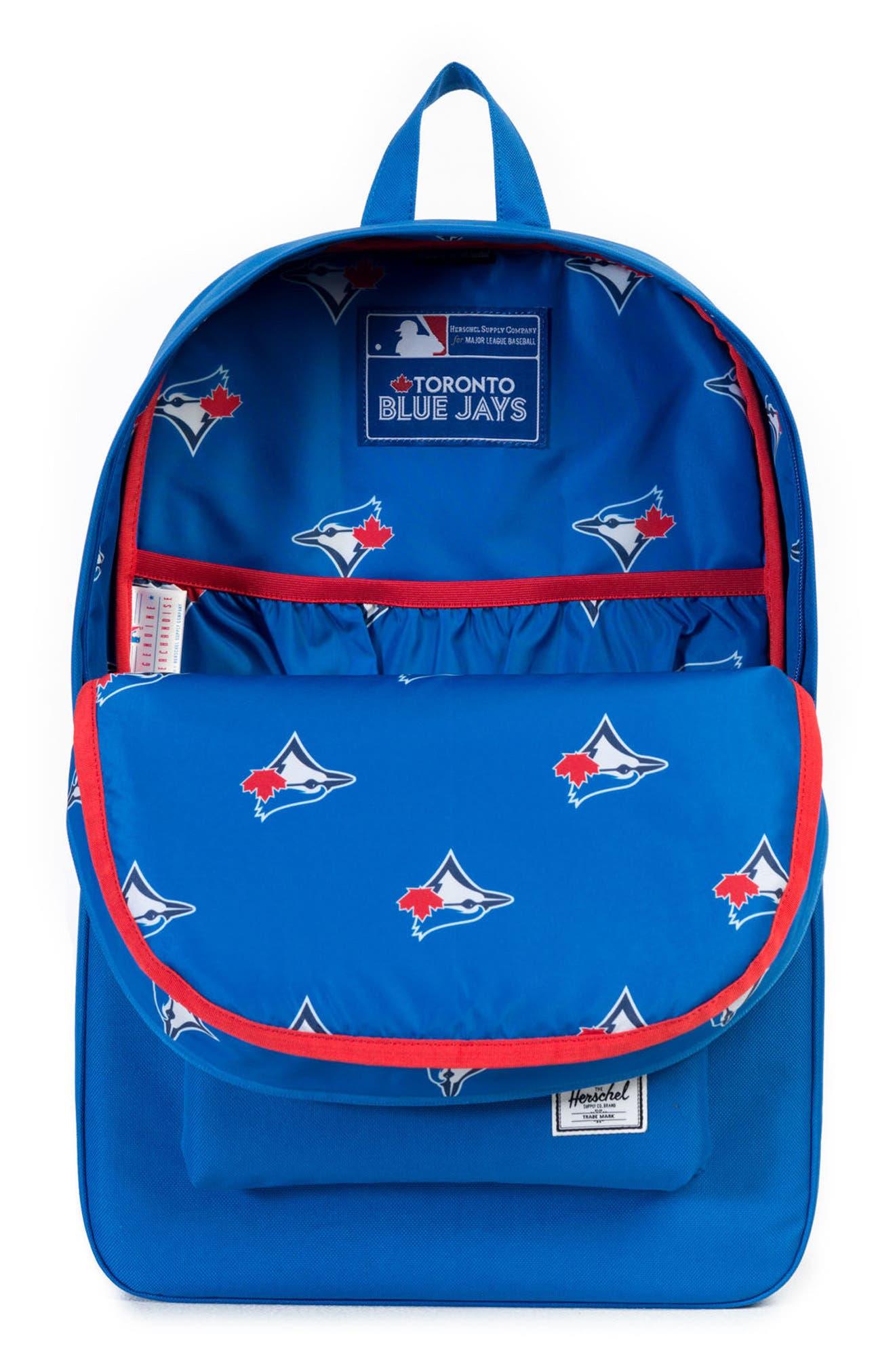 Heritage Toronto Blue Jays Backpack,                             Alternate thumbnail 3, color,                             Toronto Blue Jays
