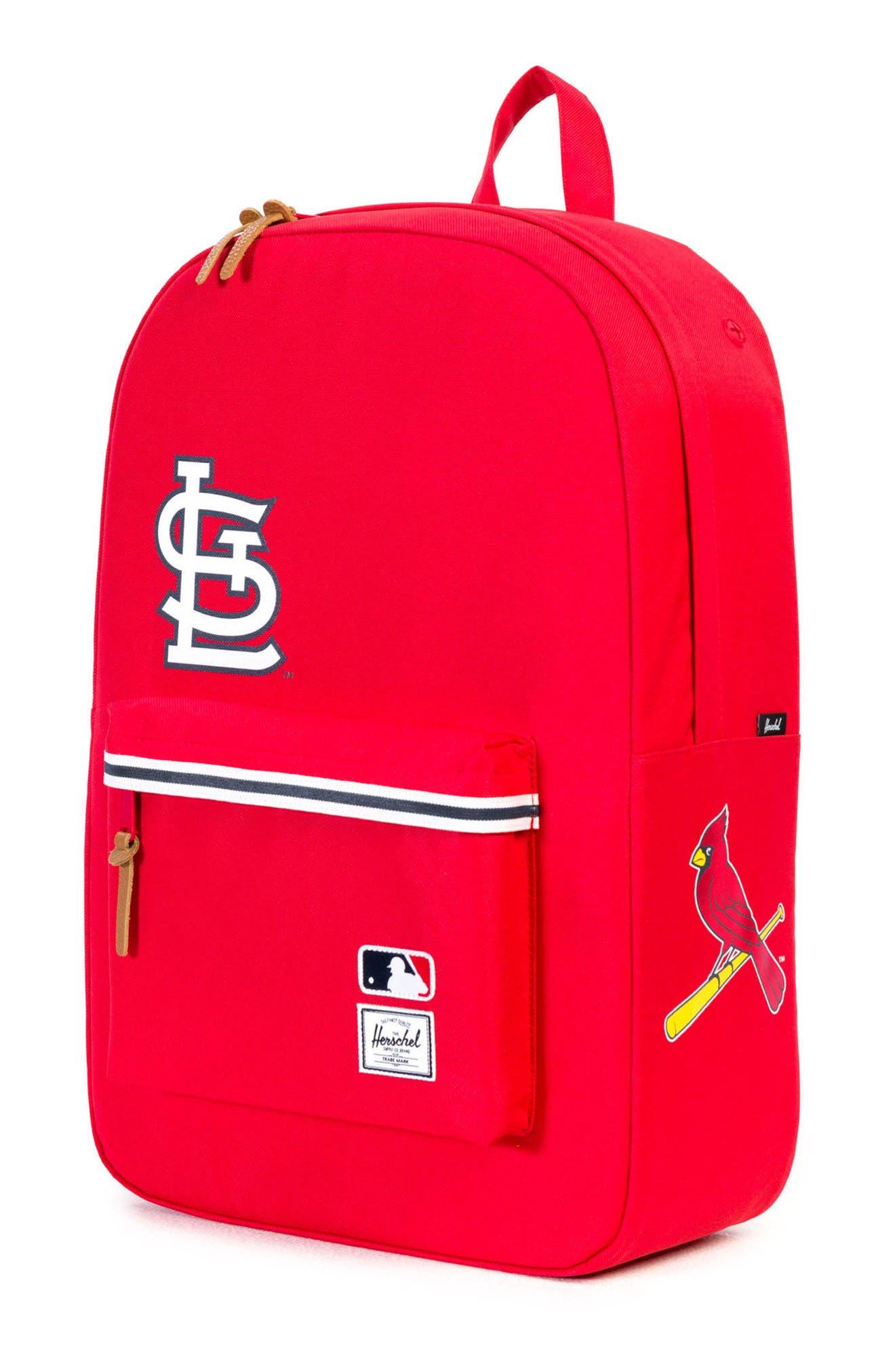 Heritage St. Louis Cardinals Backpack,                             Alternate thumbnail 4, color,                             St. Louis Cardinals