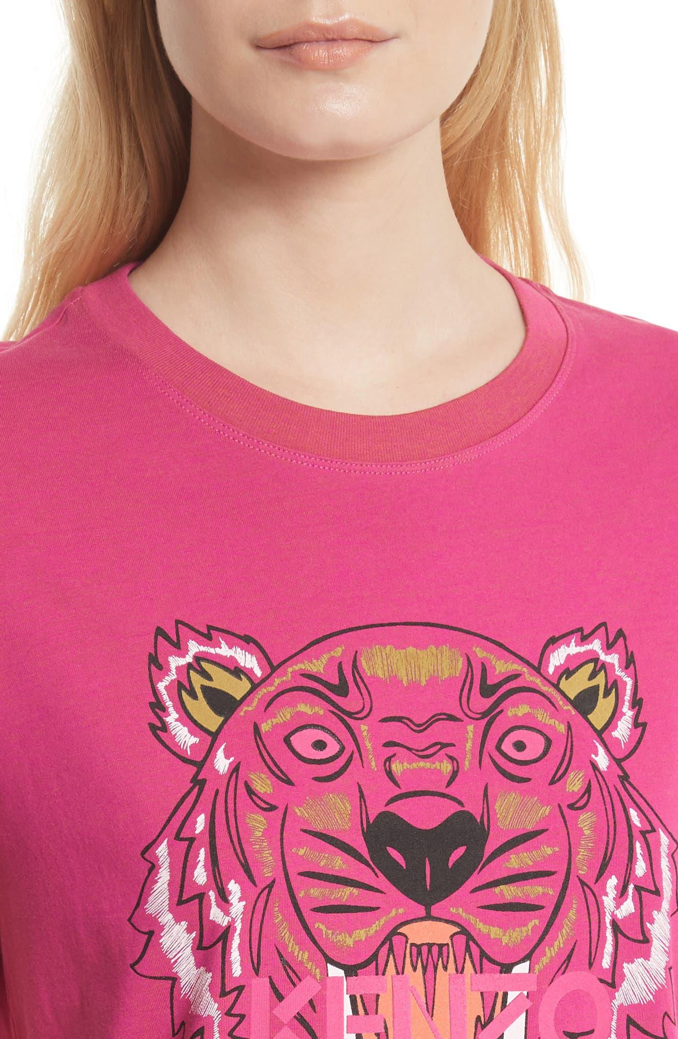 Alternate Image 4  - KENZO Tiger Print Cotton Tee