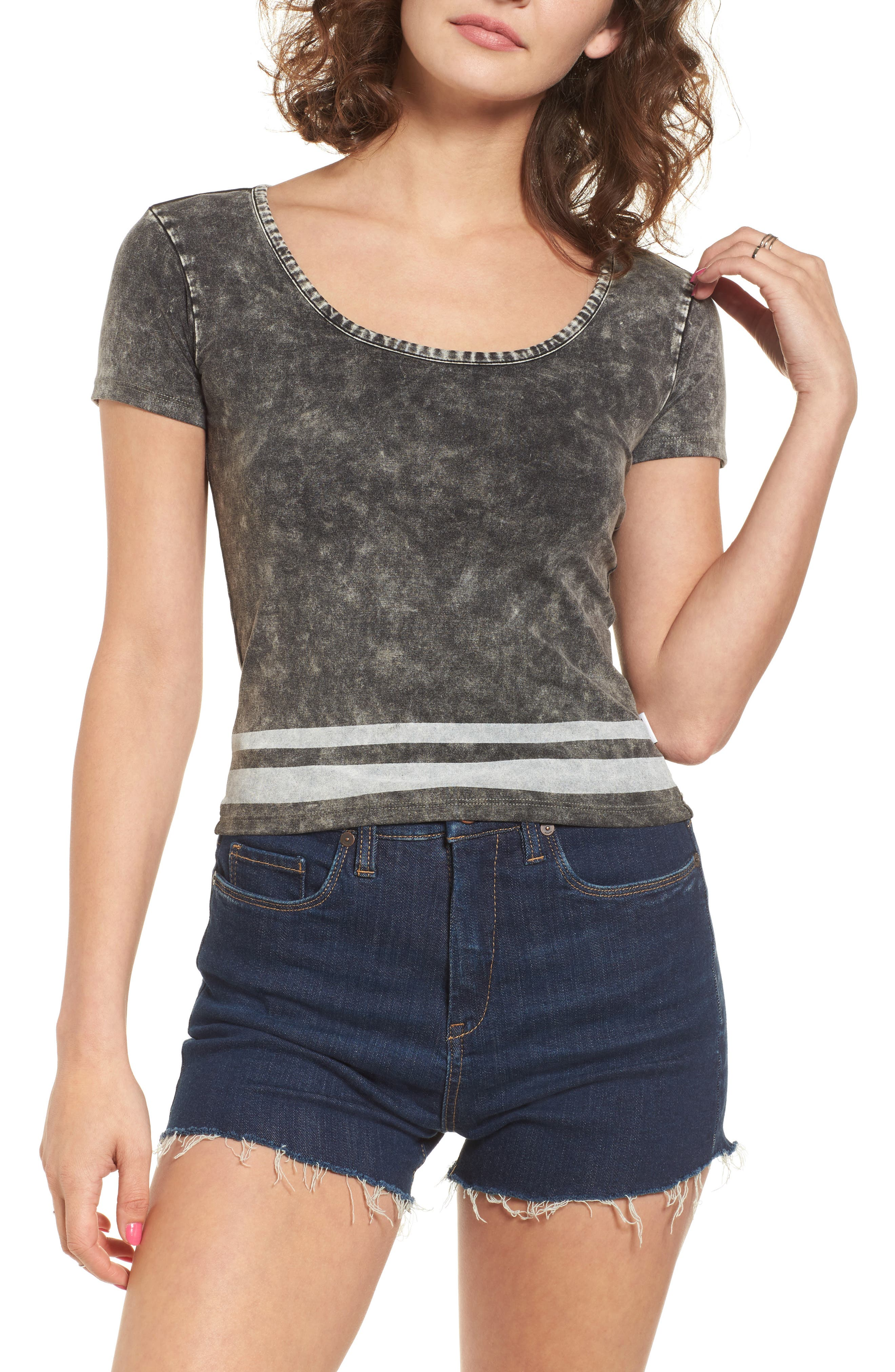 RVCA Girl Crush Crop Tee