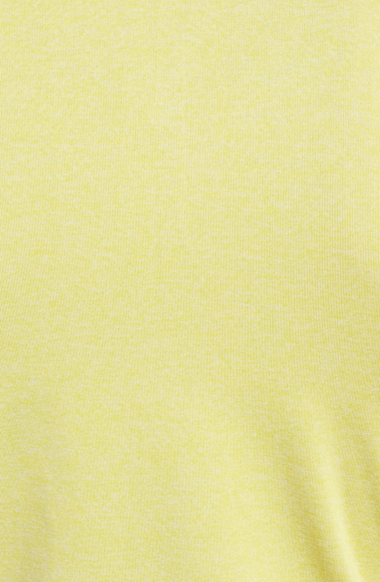 CoolSwitch Regular Fit Polo,                             Alternate thumbnail 5, color,                             Tokyo Lemon / Steel