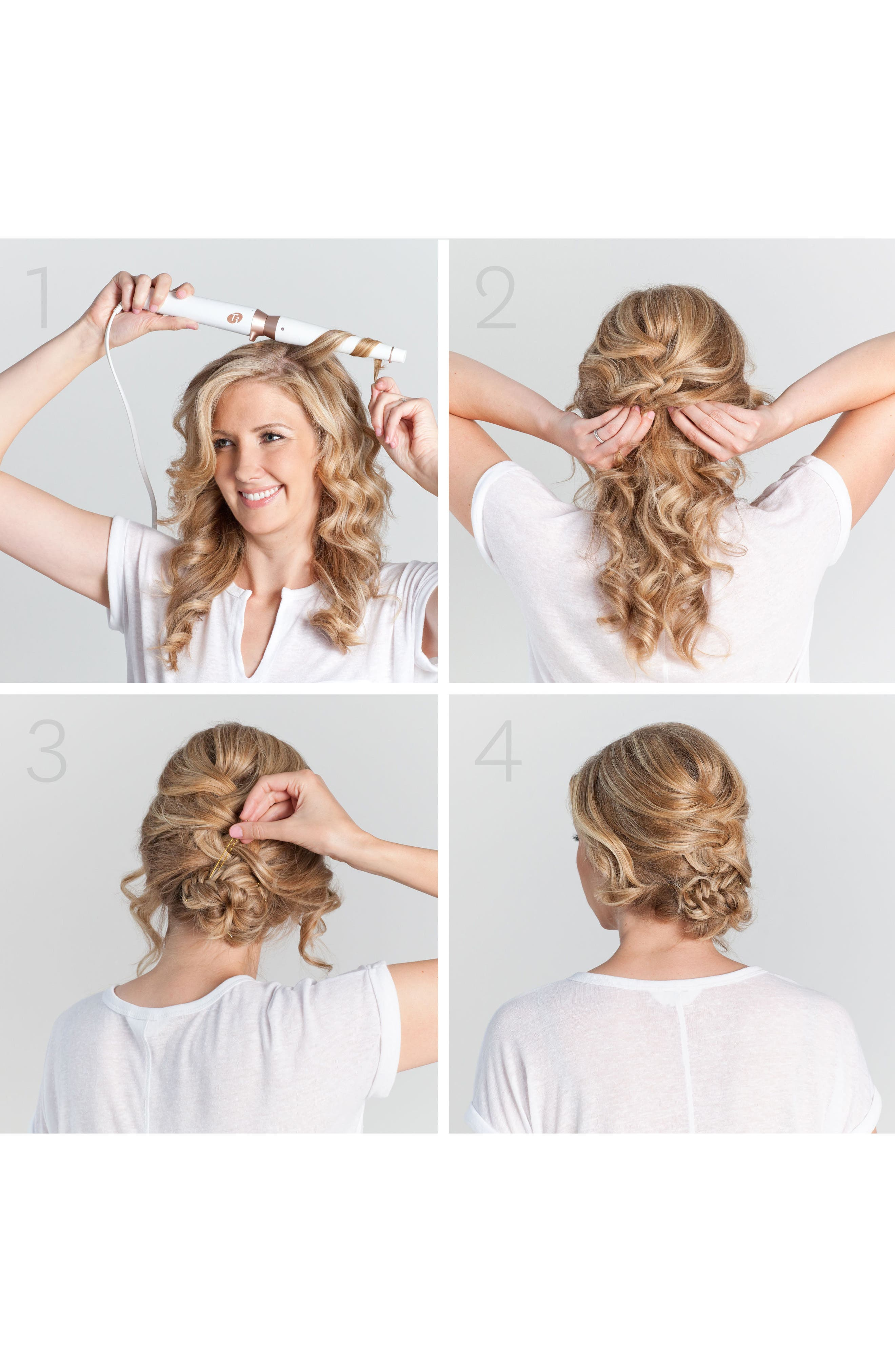 Alternate Image 2  - T3 Convertible Tousled Waves 1.25-0.75 Inch Interchangeable Tapered Barrel