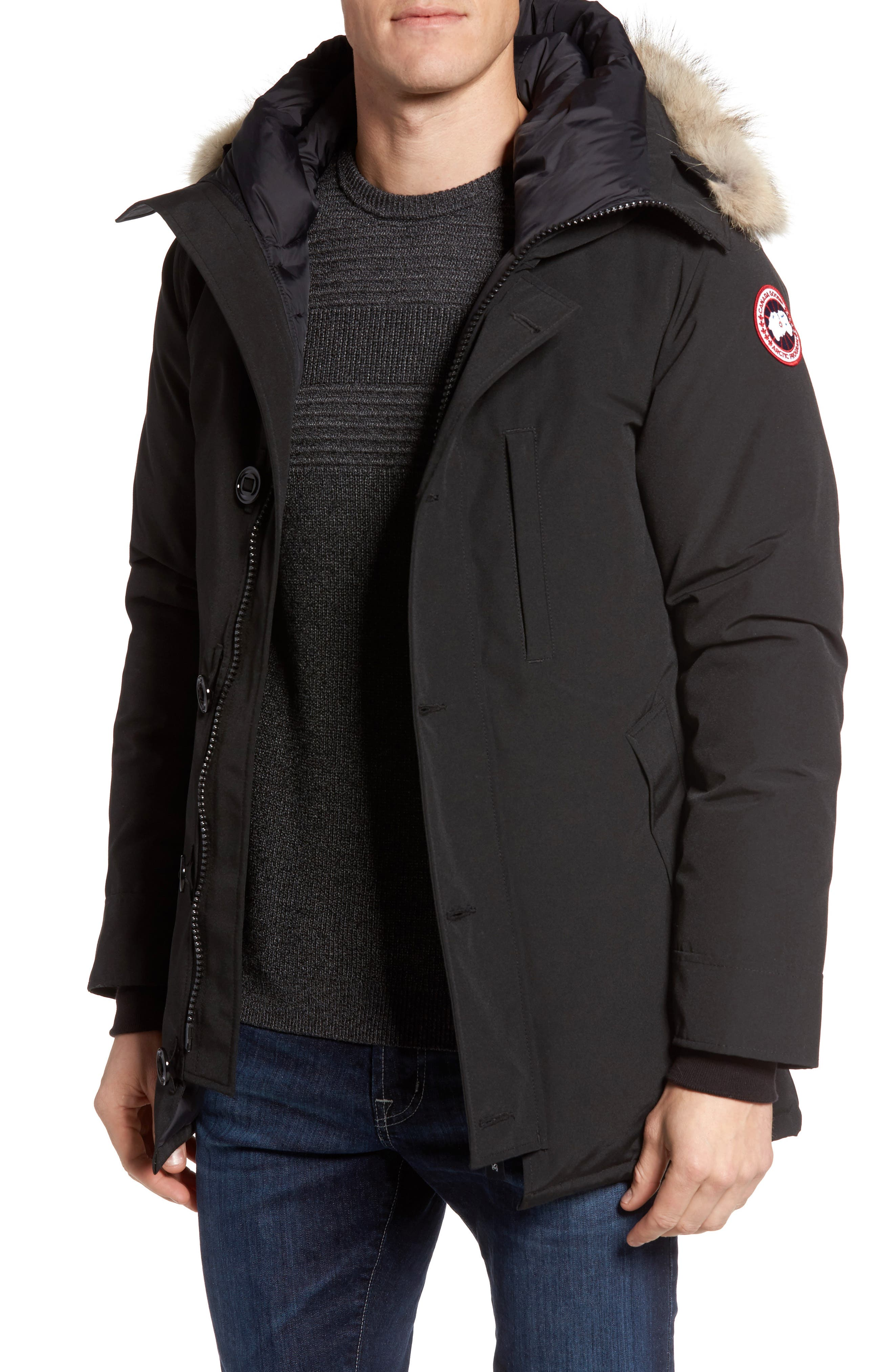 Alternate Image 1 Selected - Canada Goose Chateau Parka with Genuine Coyote Fur Trim
