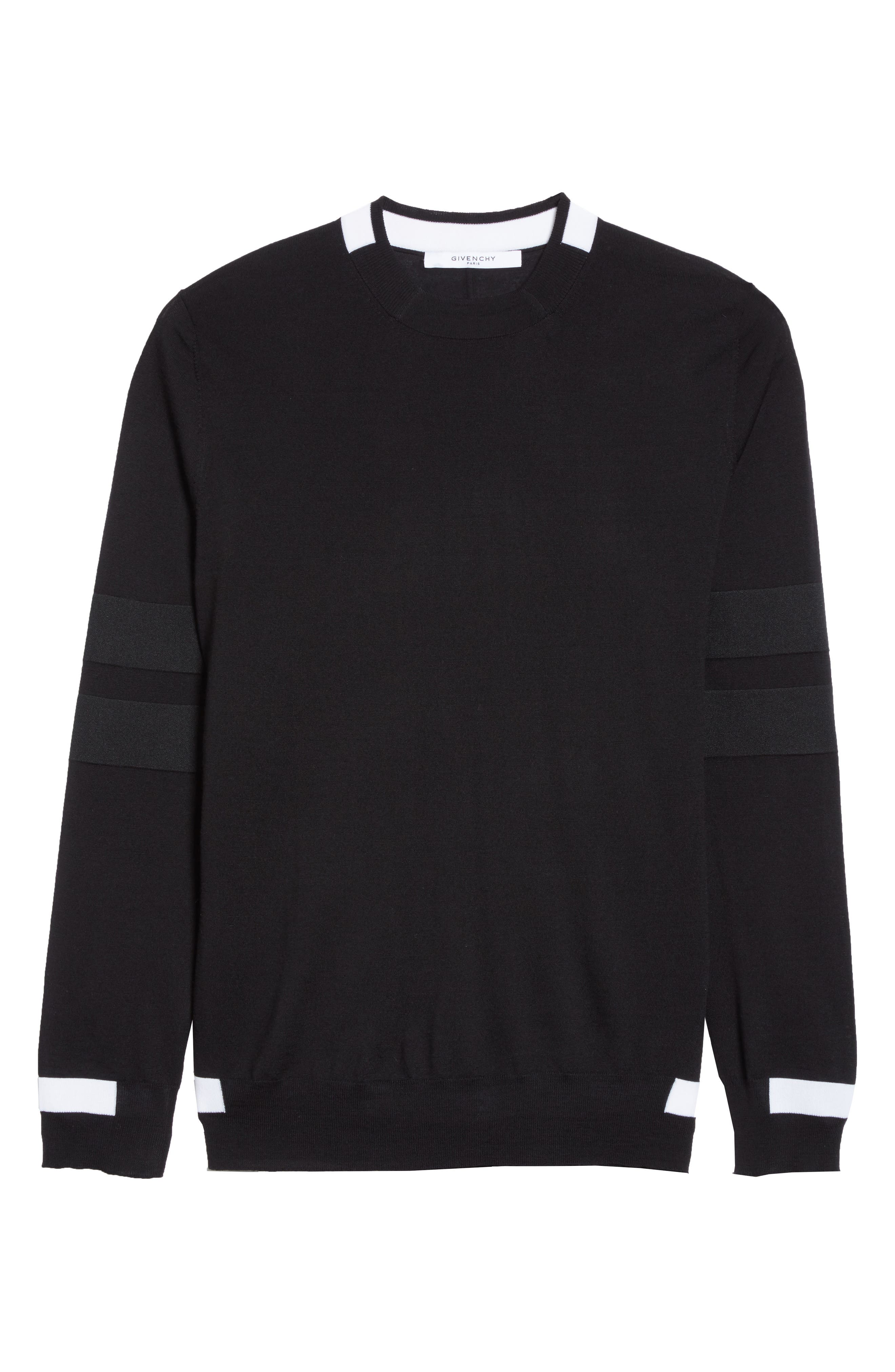 Alternate Image 6  - Givenchy Contrast Bands Wool Sweater