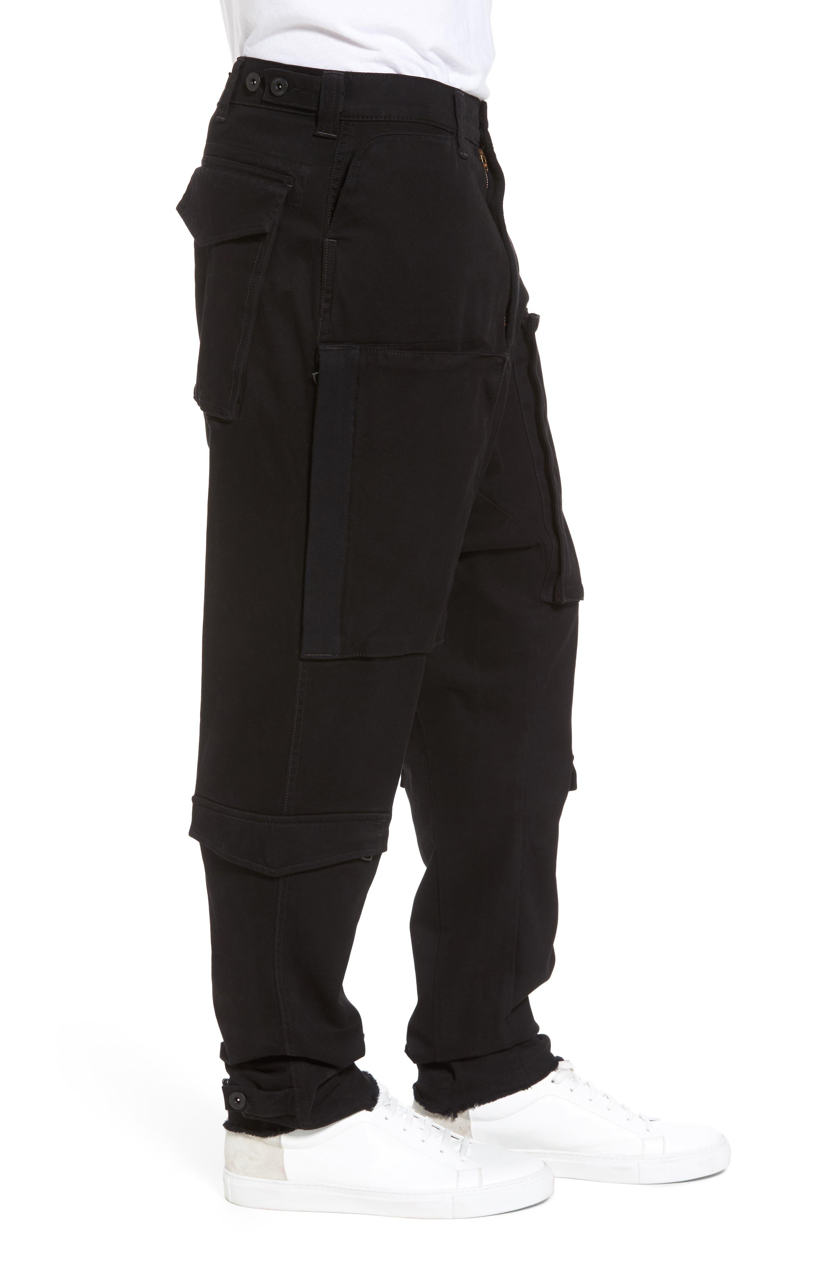 Alternate Image 3  - Hudson Jeans Quint Slouchy Leg Cargo Pants