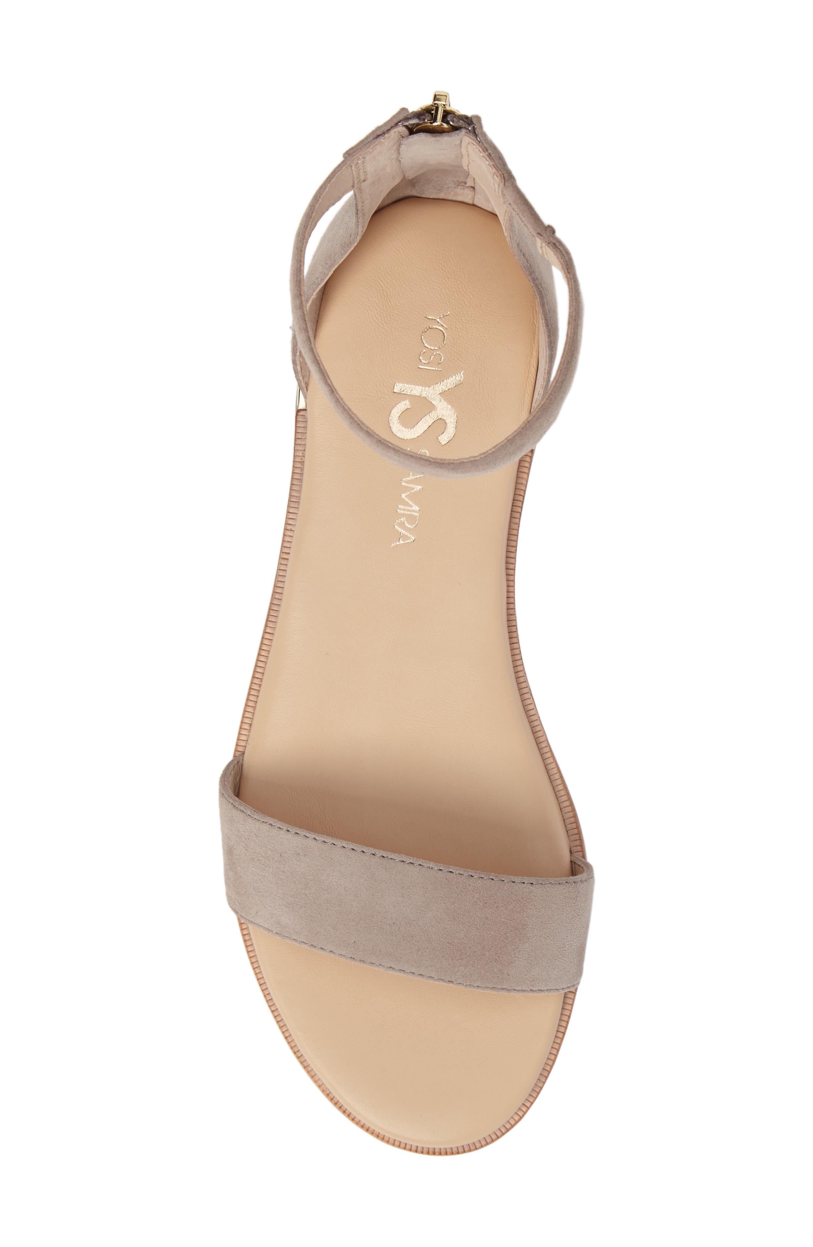 Alternate Image 5  - Yosi Samra 'Cambelle' Ankle Strap Sandal