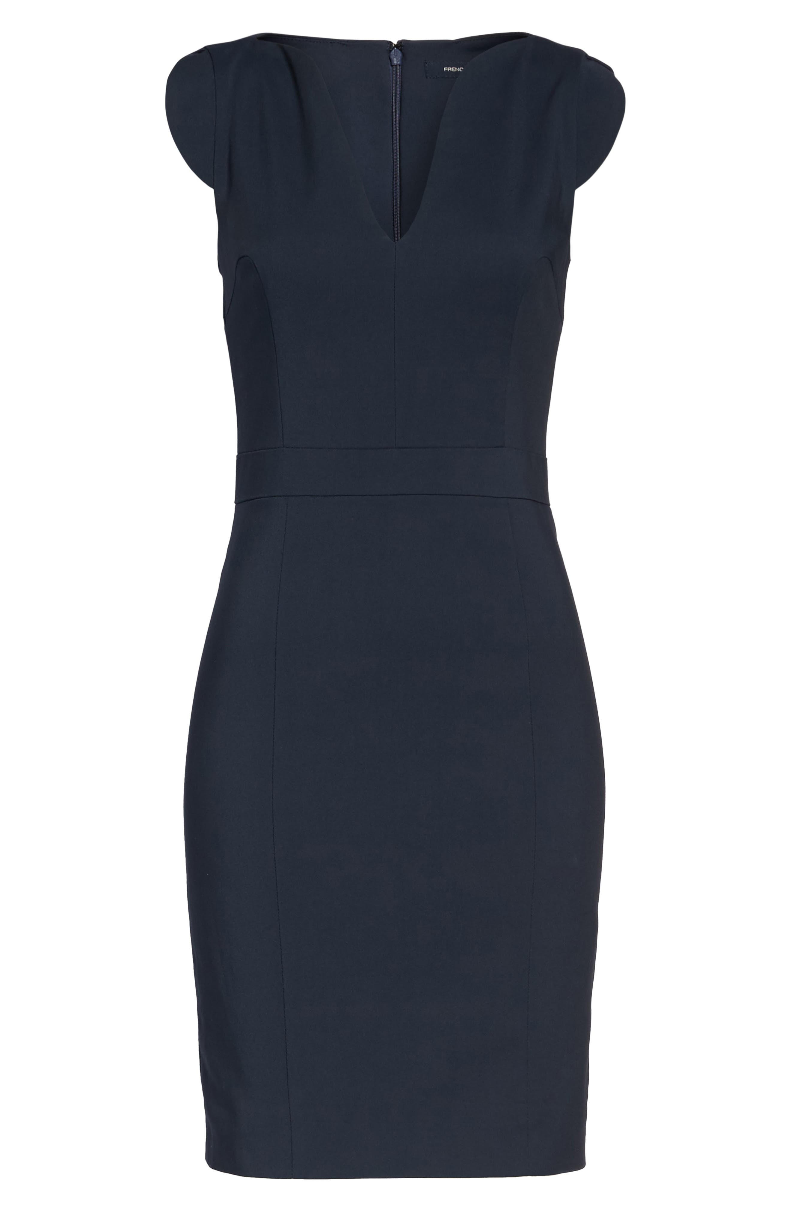 Alternate Image 6  - French Connection 'Lolo' Stretch Sheath Dress