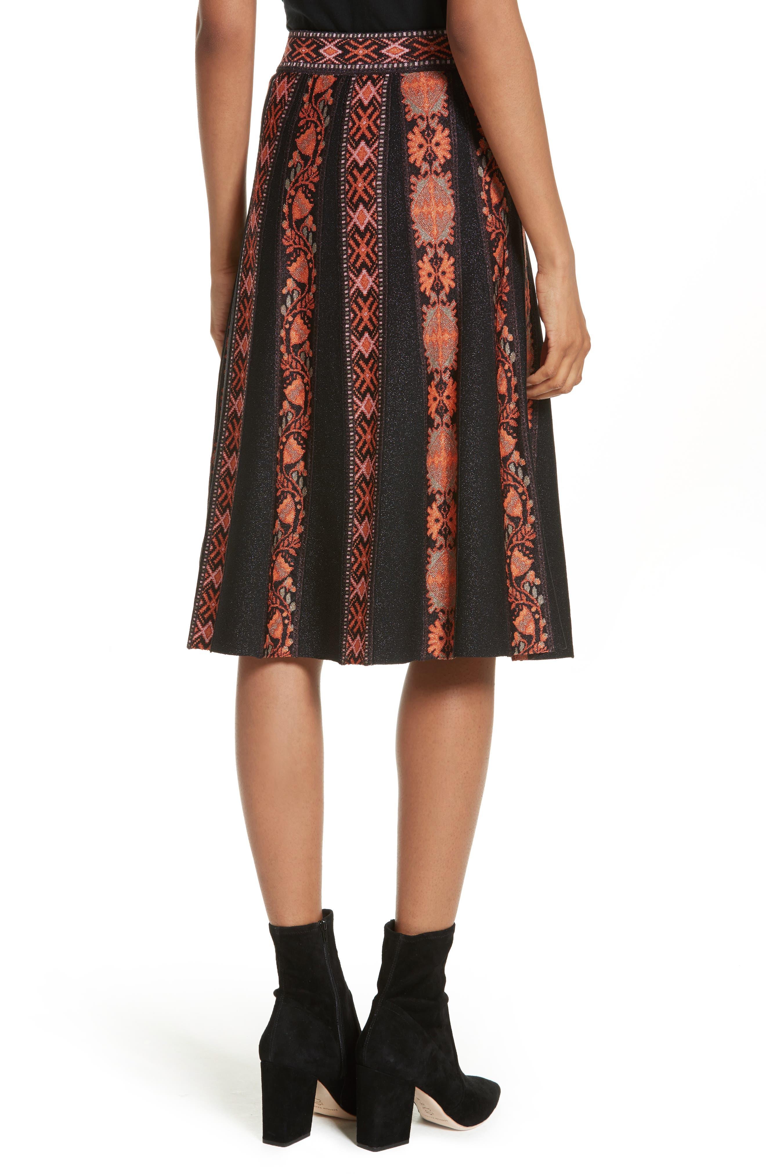 Alternate Image 2  - M Missoni Ribbon Jacquard Skirt
