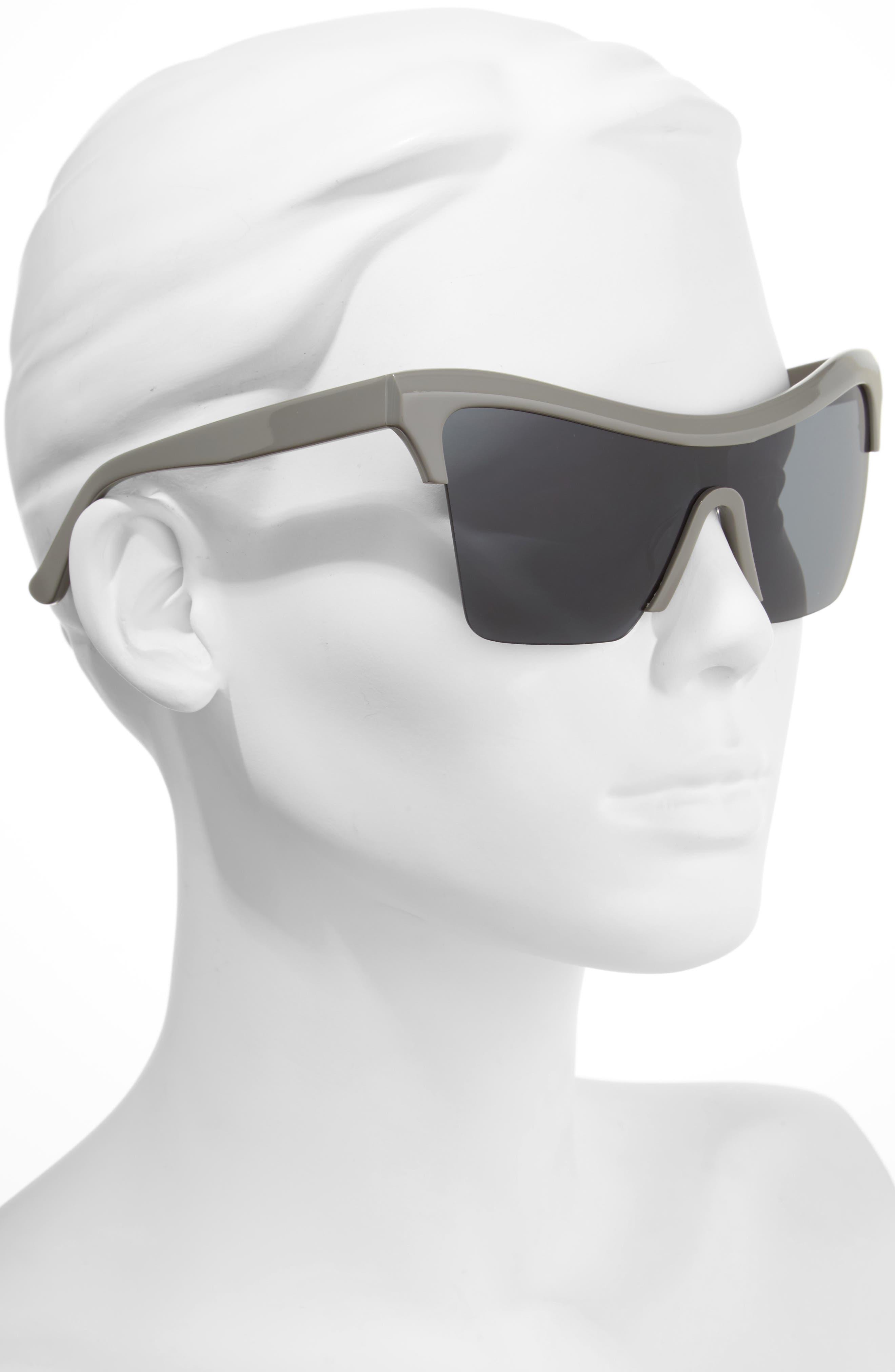 Passport Control 68mm Sunglasses,                             Alternate thumbnail 2, color,                             Grey