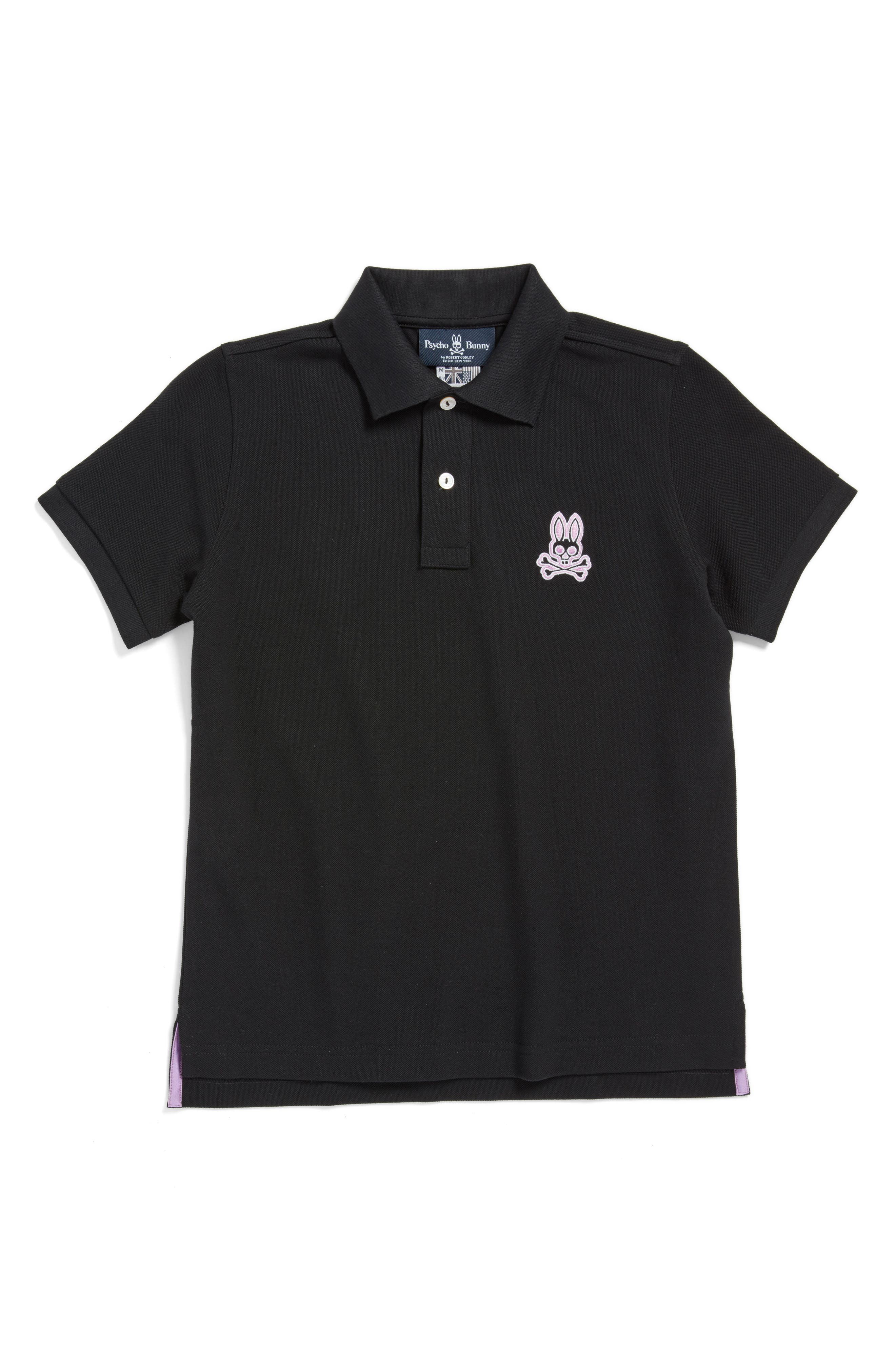 Psycho Bunny Alto Piqué Cotton Polo (Little Boys & Big Boys)