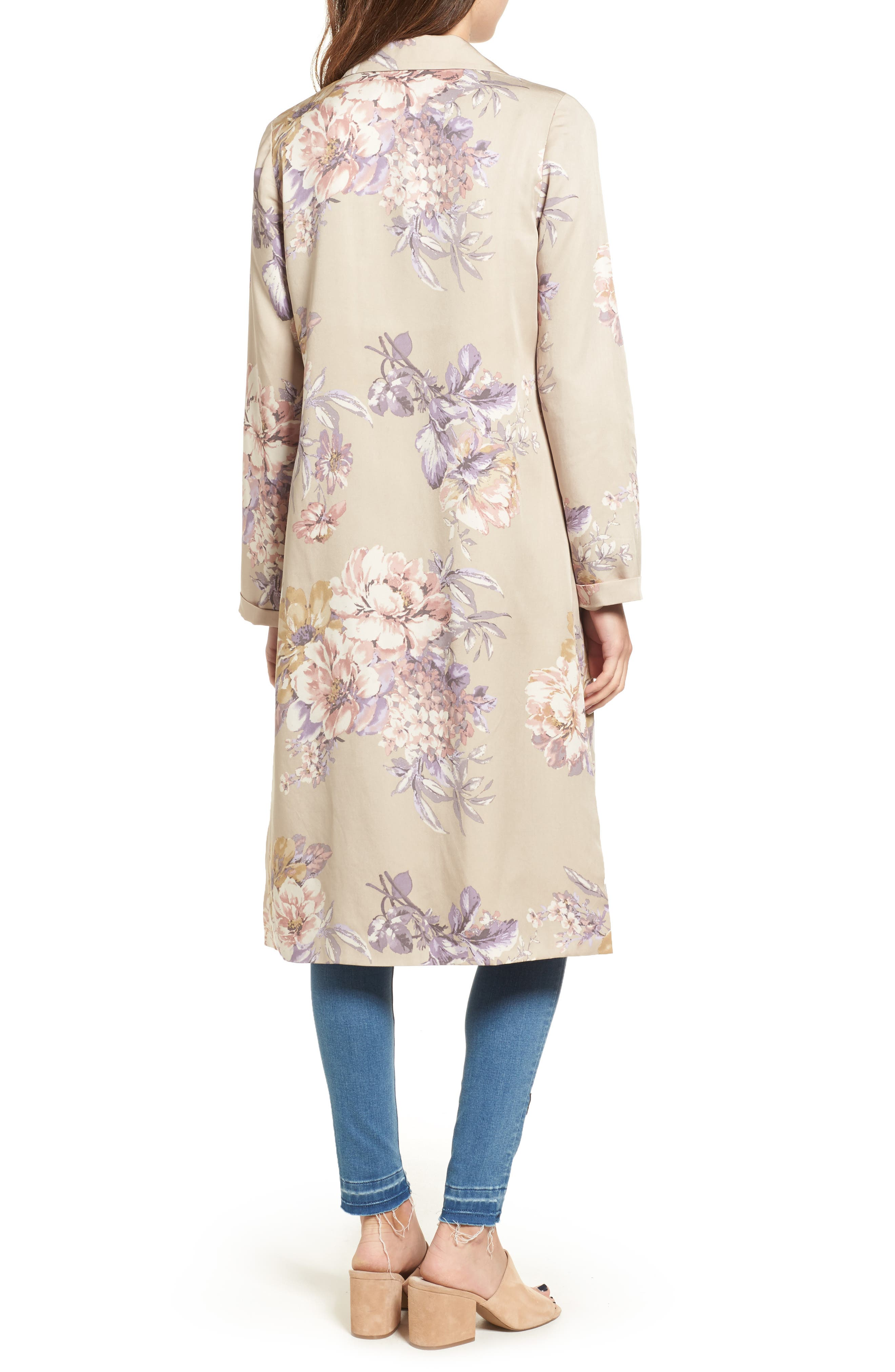 Alternate Image 2  - Leith Floral Duster